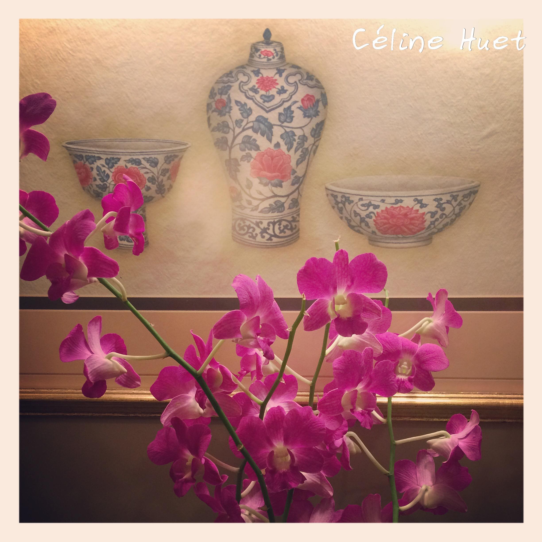 Orchidées Mandarin Oriental Bangkok