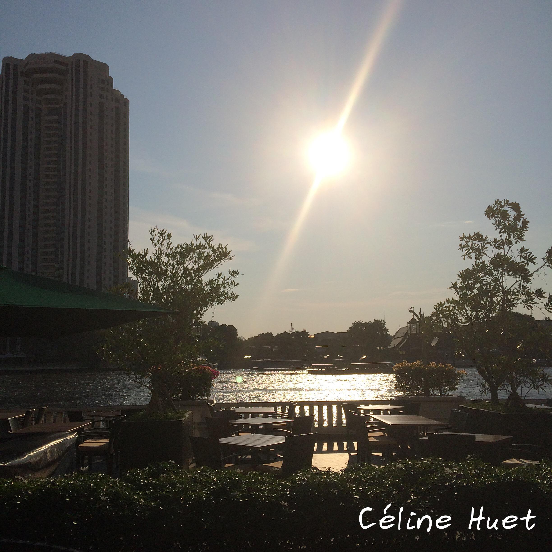 Fin de journée à Bangkok