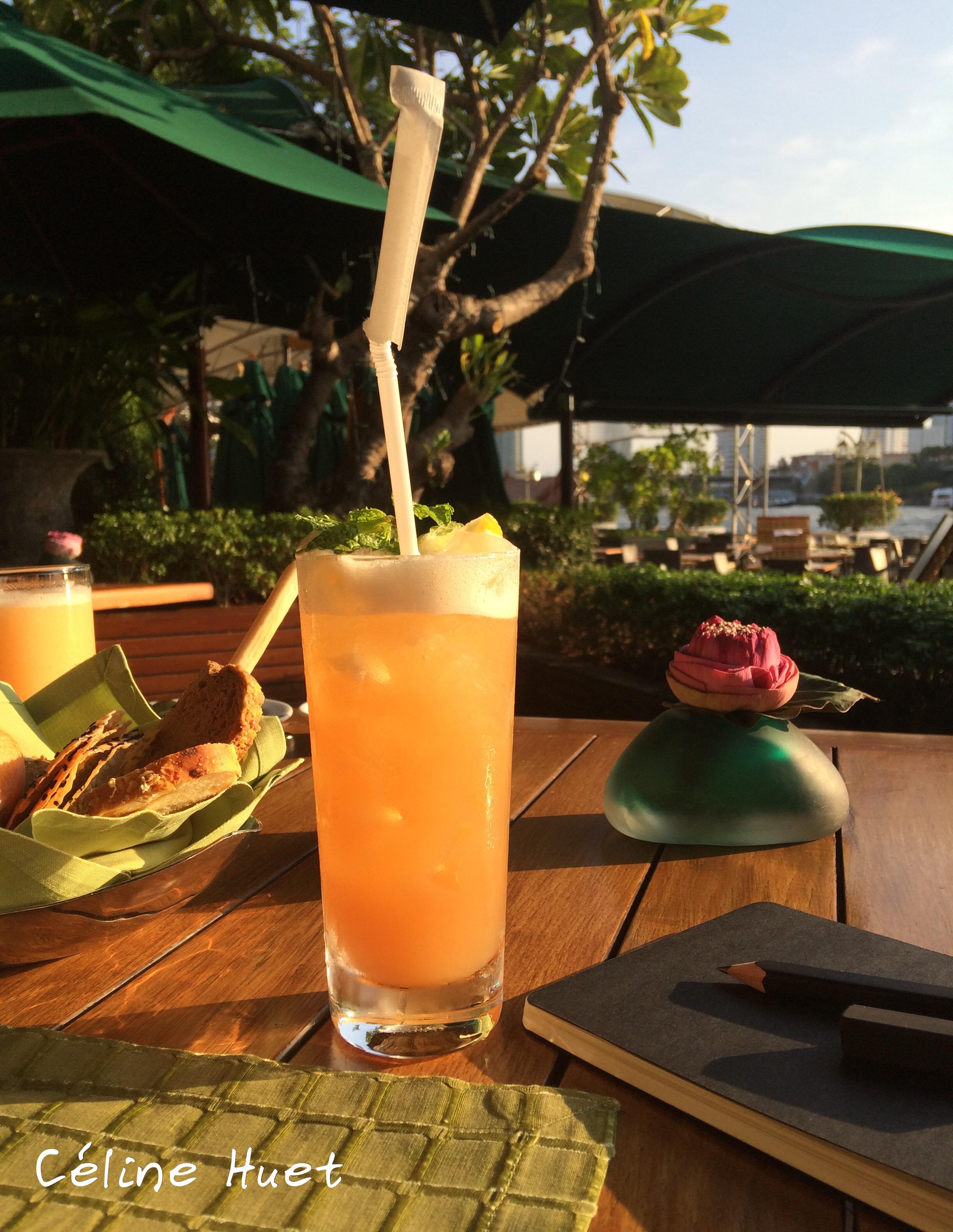 Ginger tea reviver Mandarin Oriental Bangkok