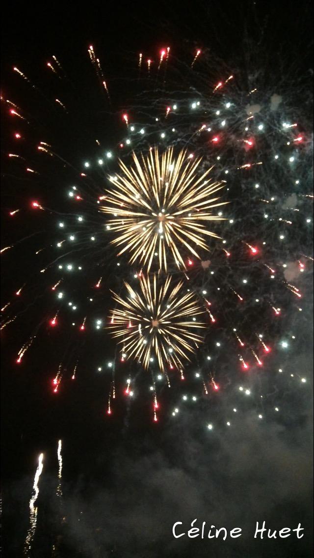 Fireworks Chao Praya Bangkok