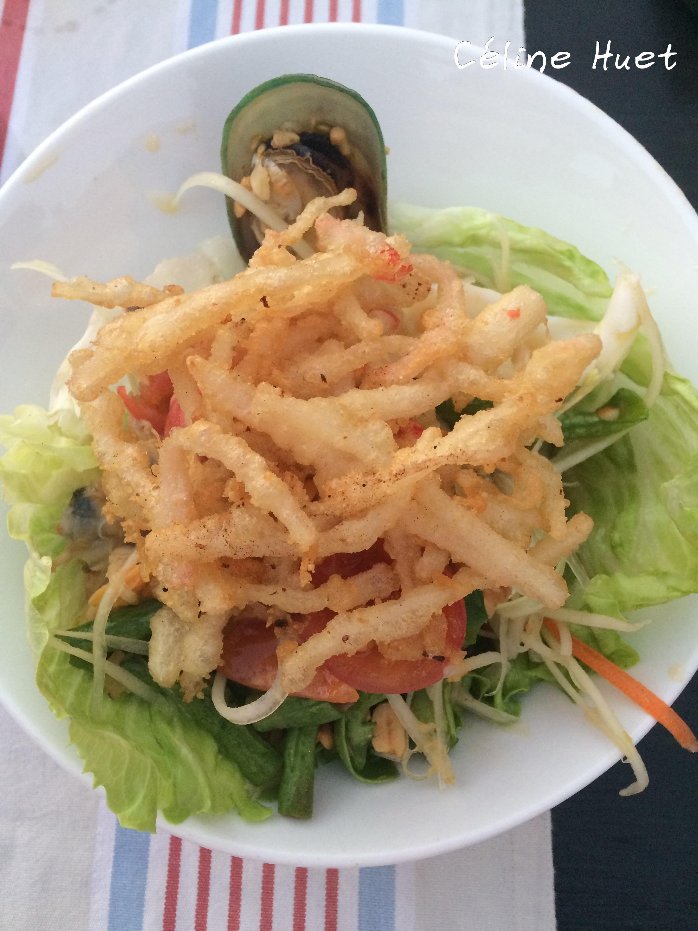 Papaya salad Eat Sight Story Bangkok Thailand Asia