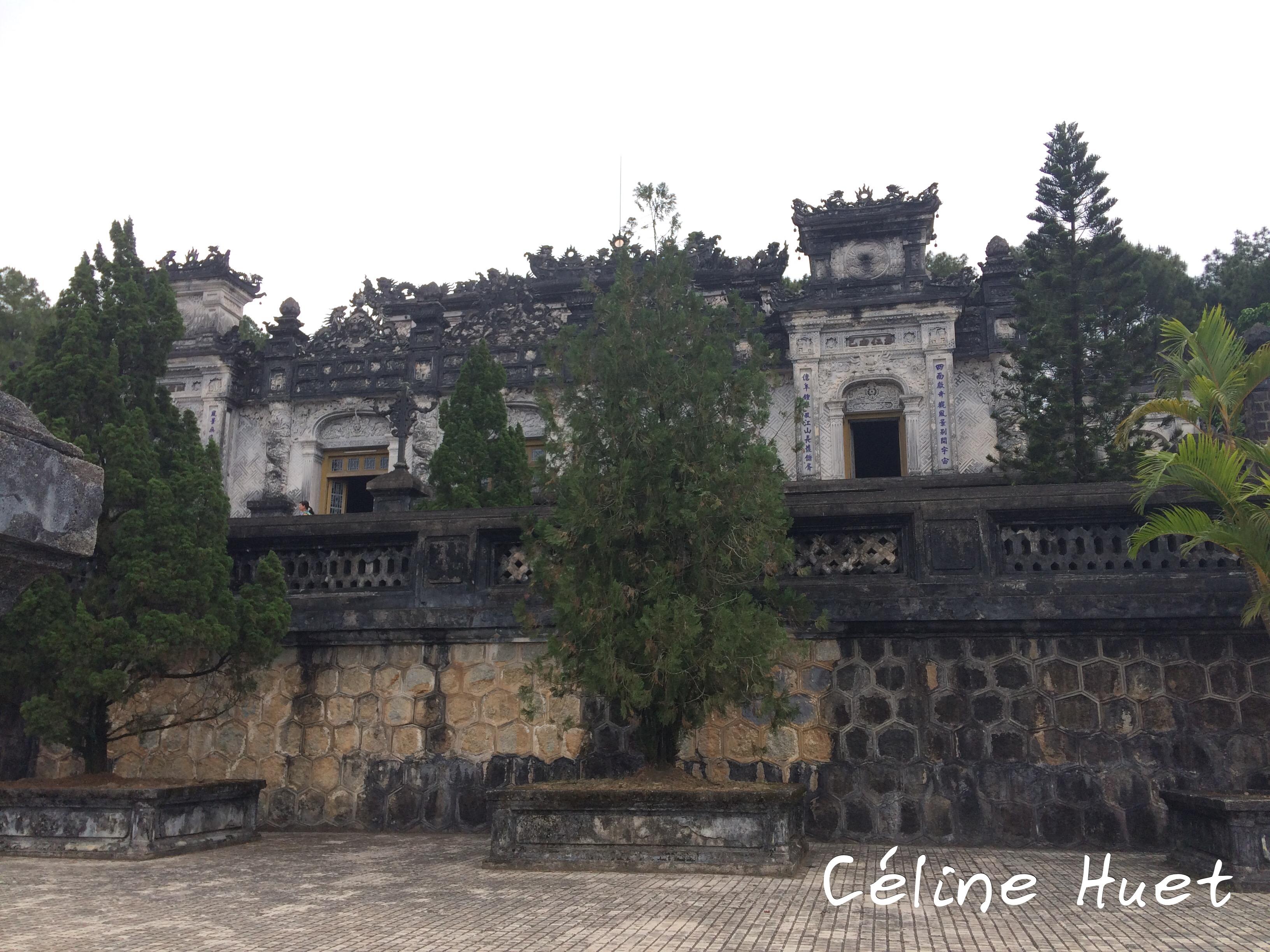 Tombeau impérial de Khai Dinh Hué Vietnam Asie