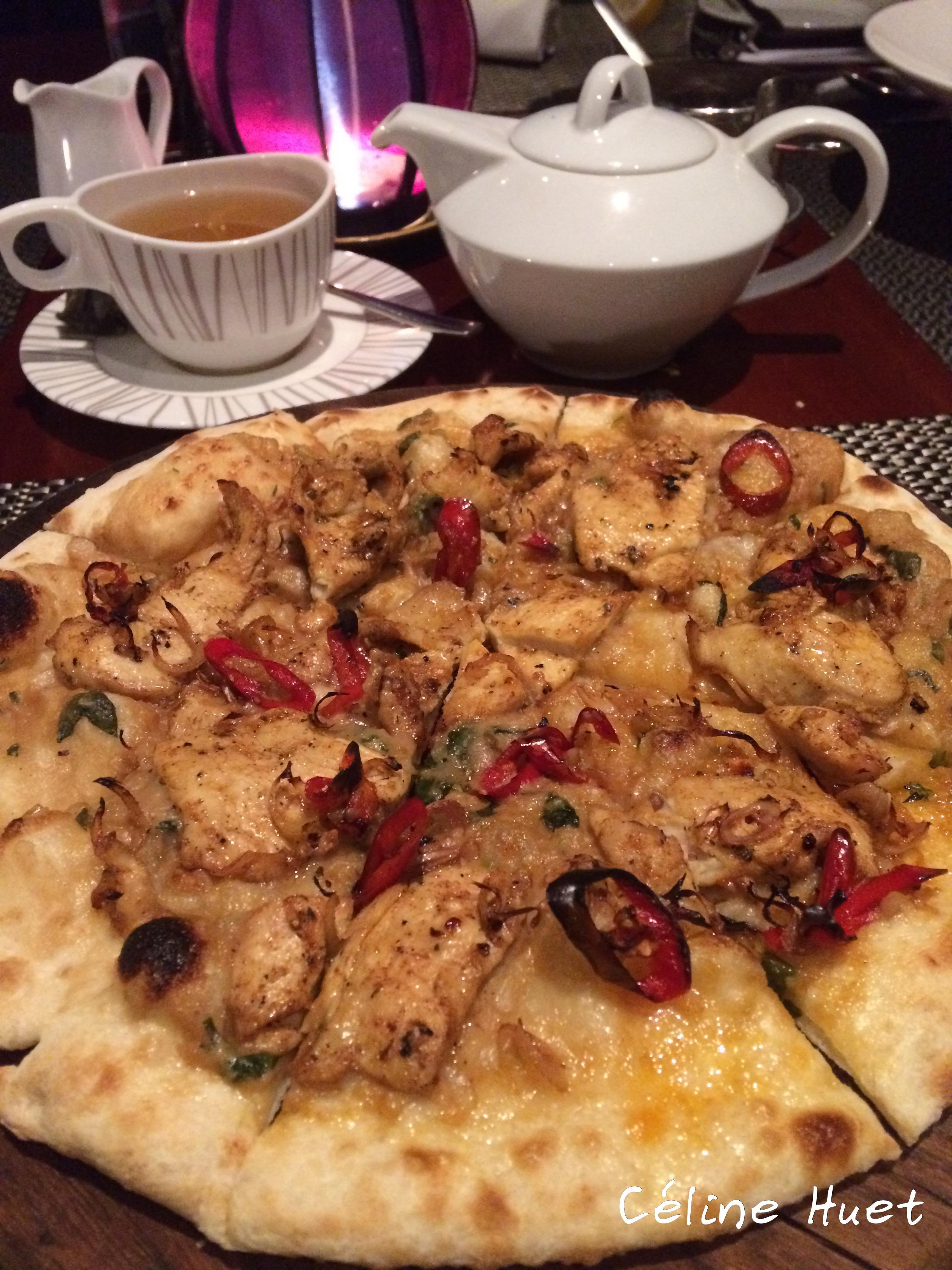 Vietnamese pizza Lounge Sunrise Premium Resort Hoi An Vietnam Asia