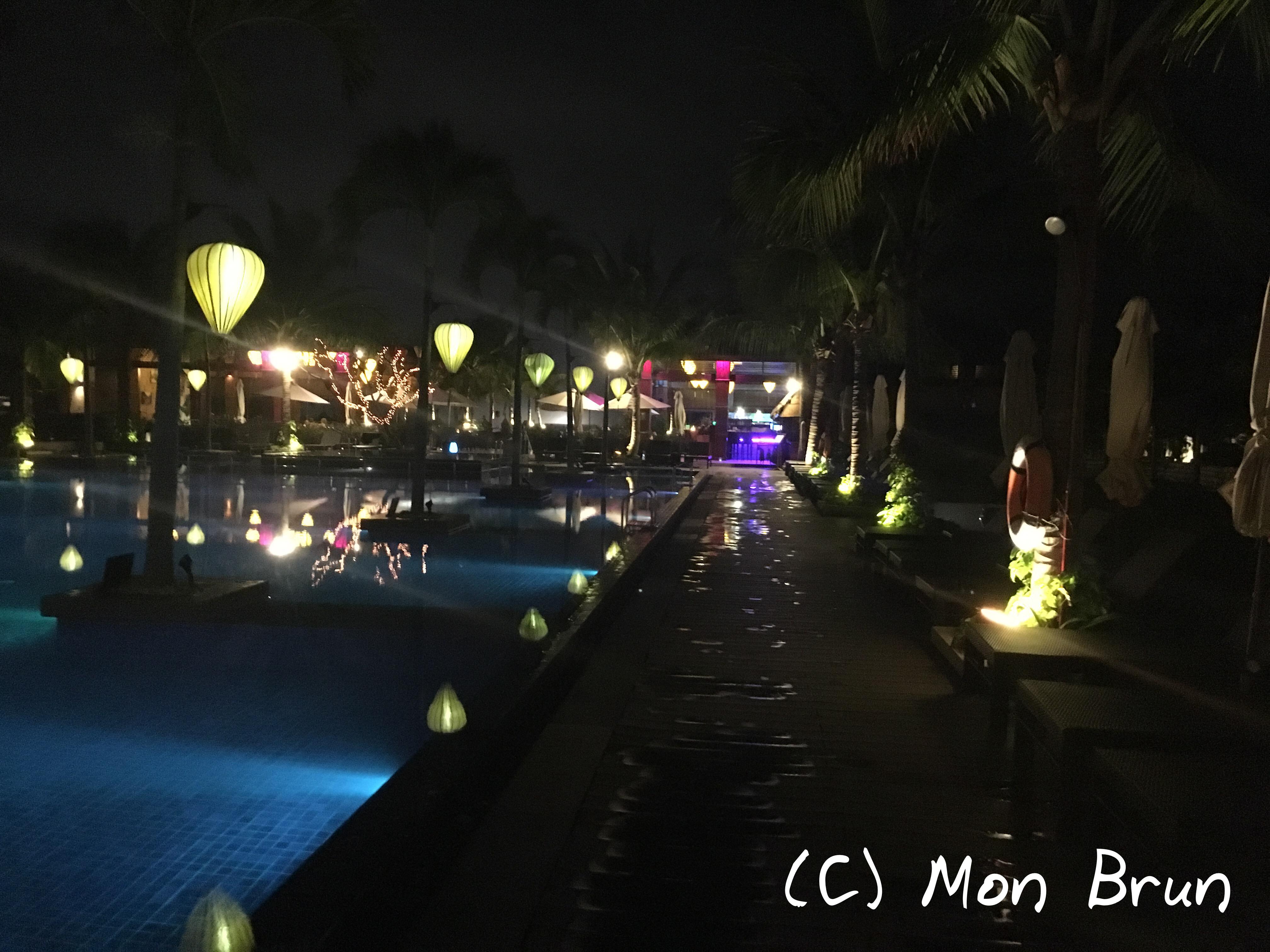 Pool Sunrise Premium Resort Hoi An Vietnam Asia