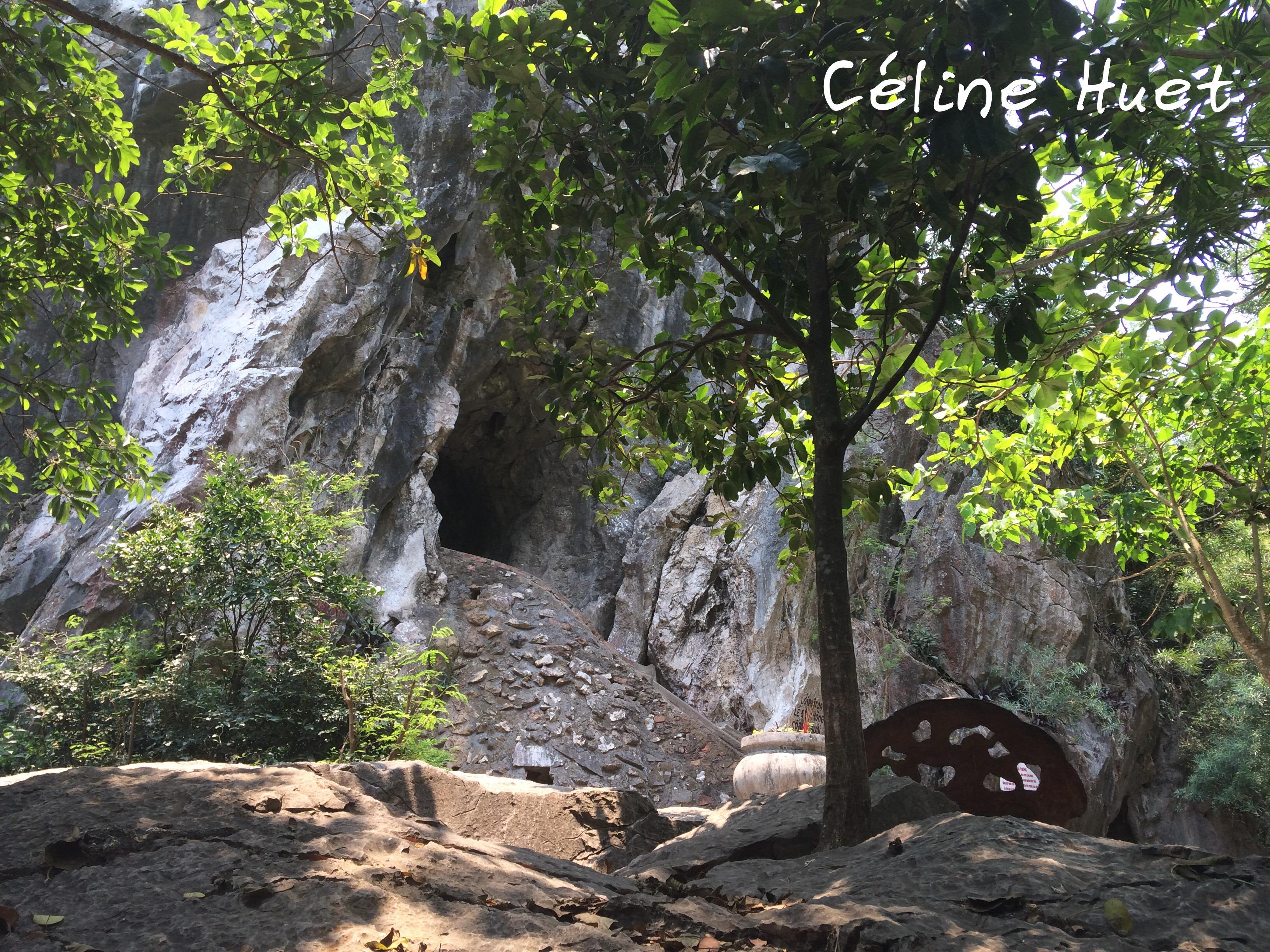 Van Thong cave Montagnes de marbre Da Nang Vietnam Asie