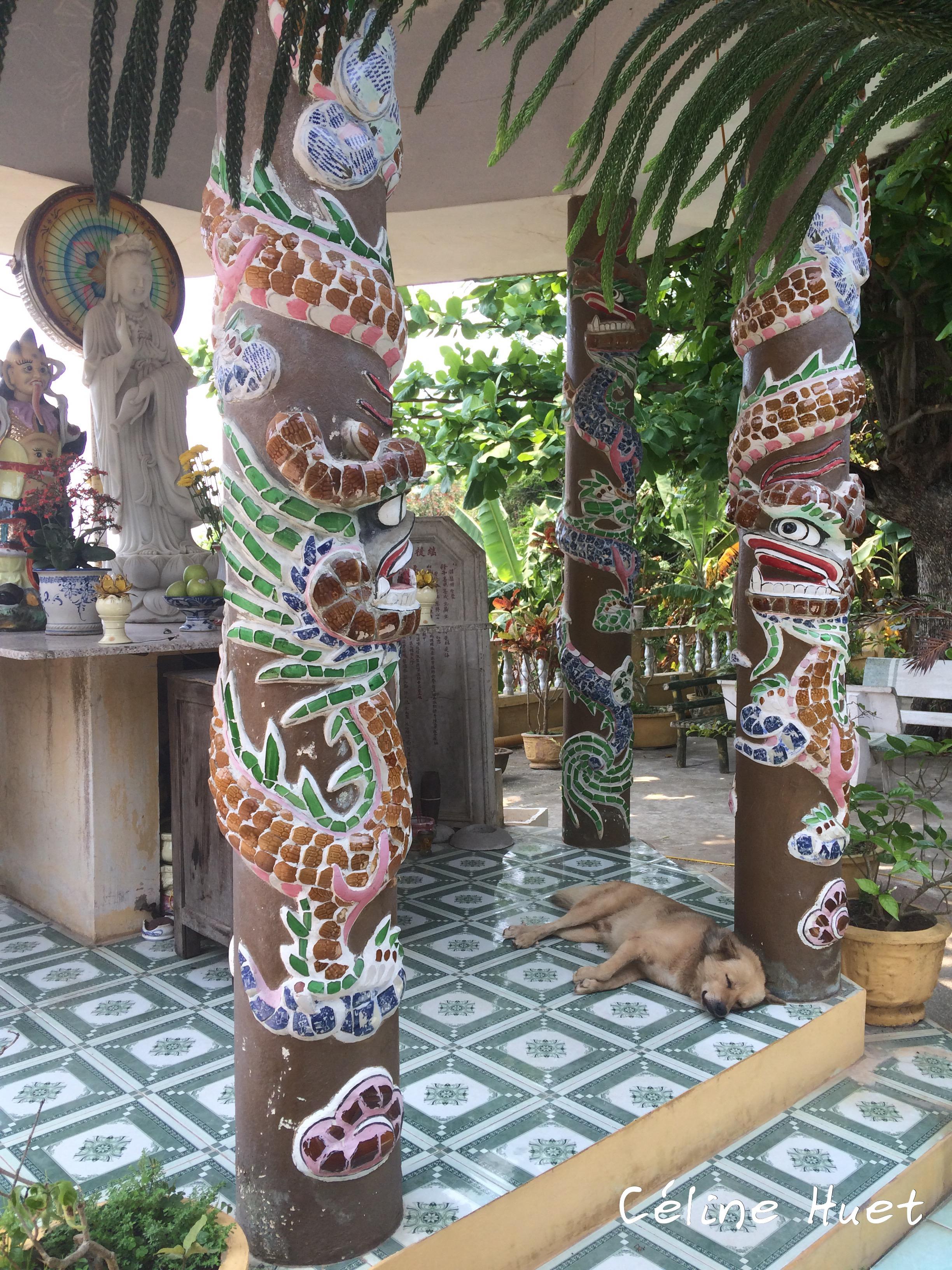 Tam Ton Pagoda Montagnes de marbre Da Nang Vietnam Asie