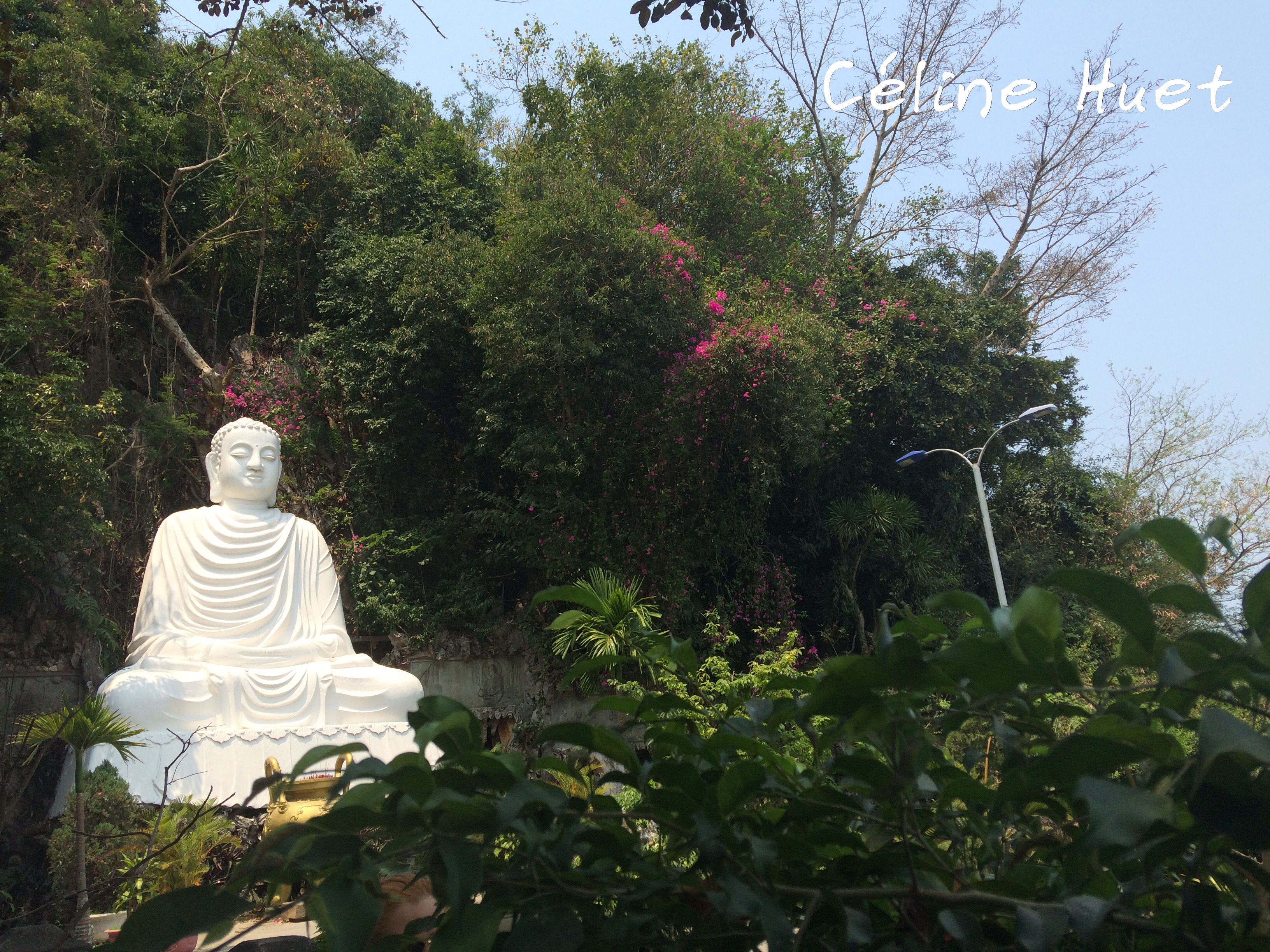 Bouddha Linh Ung Pagoda Montagnes de marbre Da Nang Vietnam Asie