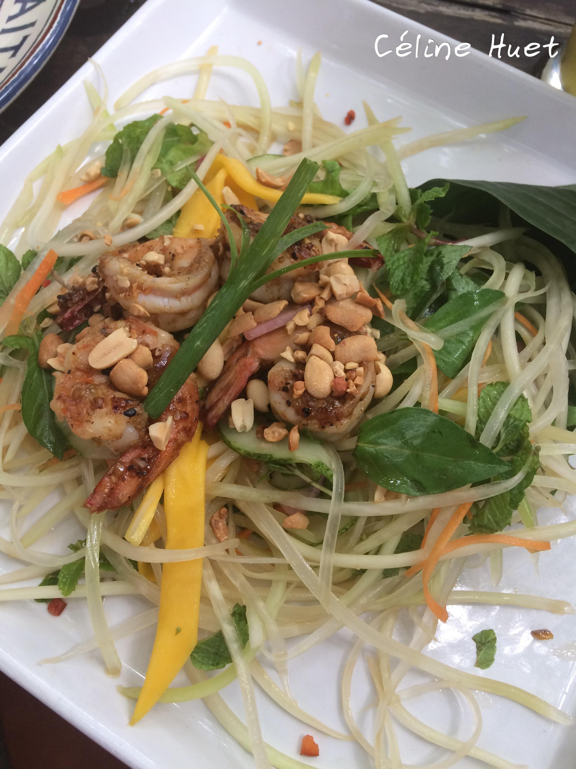 Papaya Salad La Tourelle Hoi An Vietnam Asie