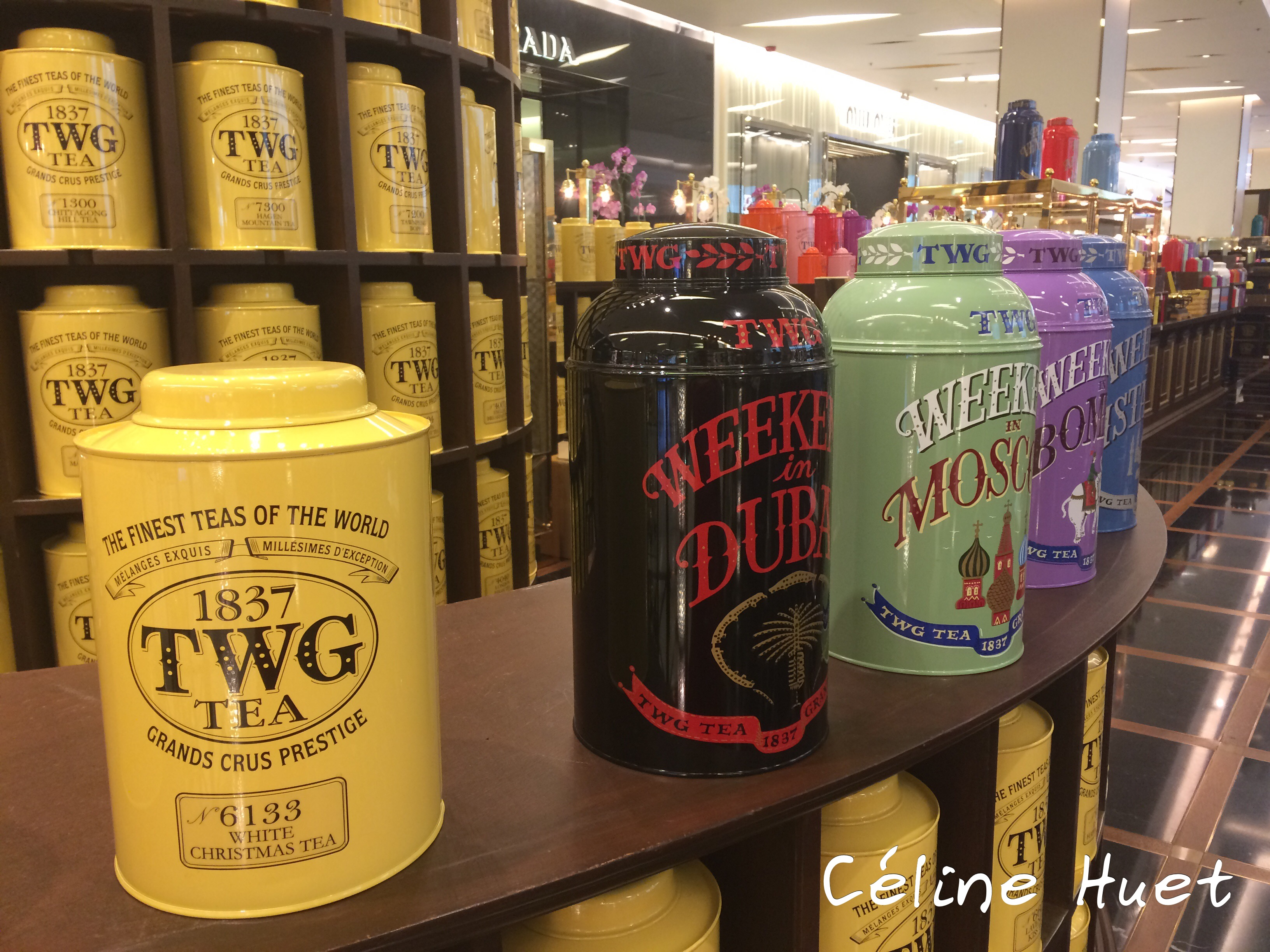 TWG Tea Siam Paragon Bangkok Thaïlande Asie