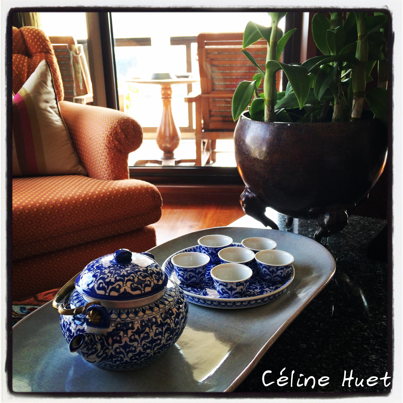 Service à thé Junio Suite Mandarin Oriental Bangkok Thaïlande Asie