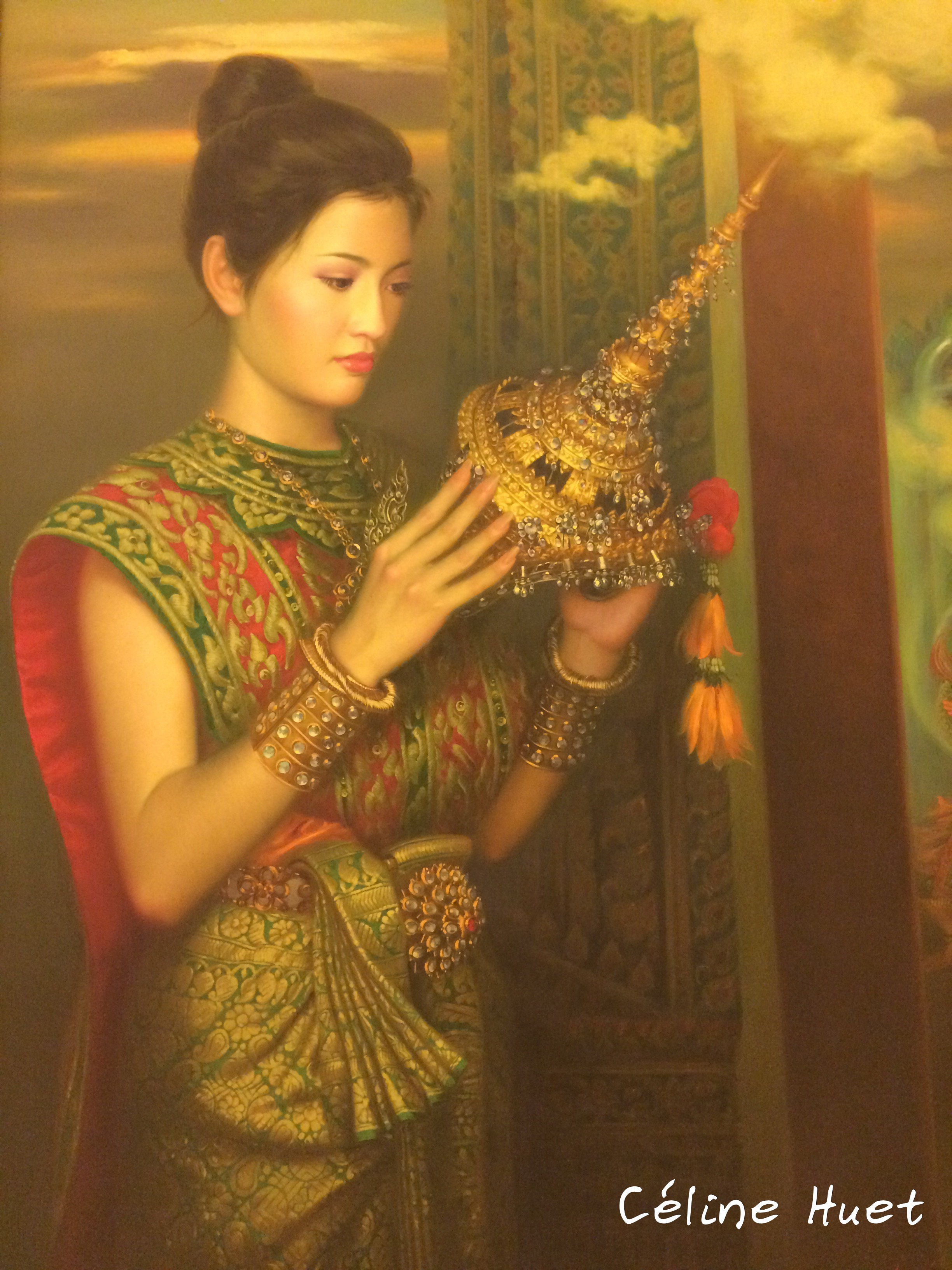 Sita and the Gallant Demon Watchara Klakhakhai MOCA Bangkok Thaïlande Asie