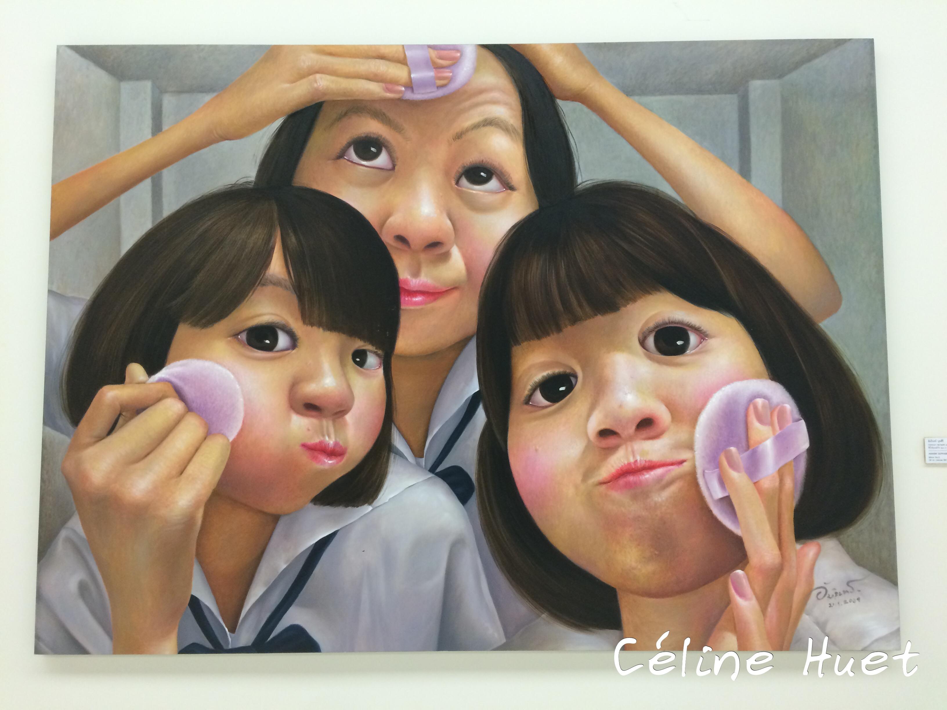 Mirror n° 5 Amarin Buppasiri MOCA Bangkok Thaïlande Asie