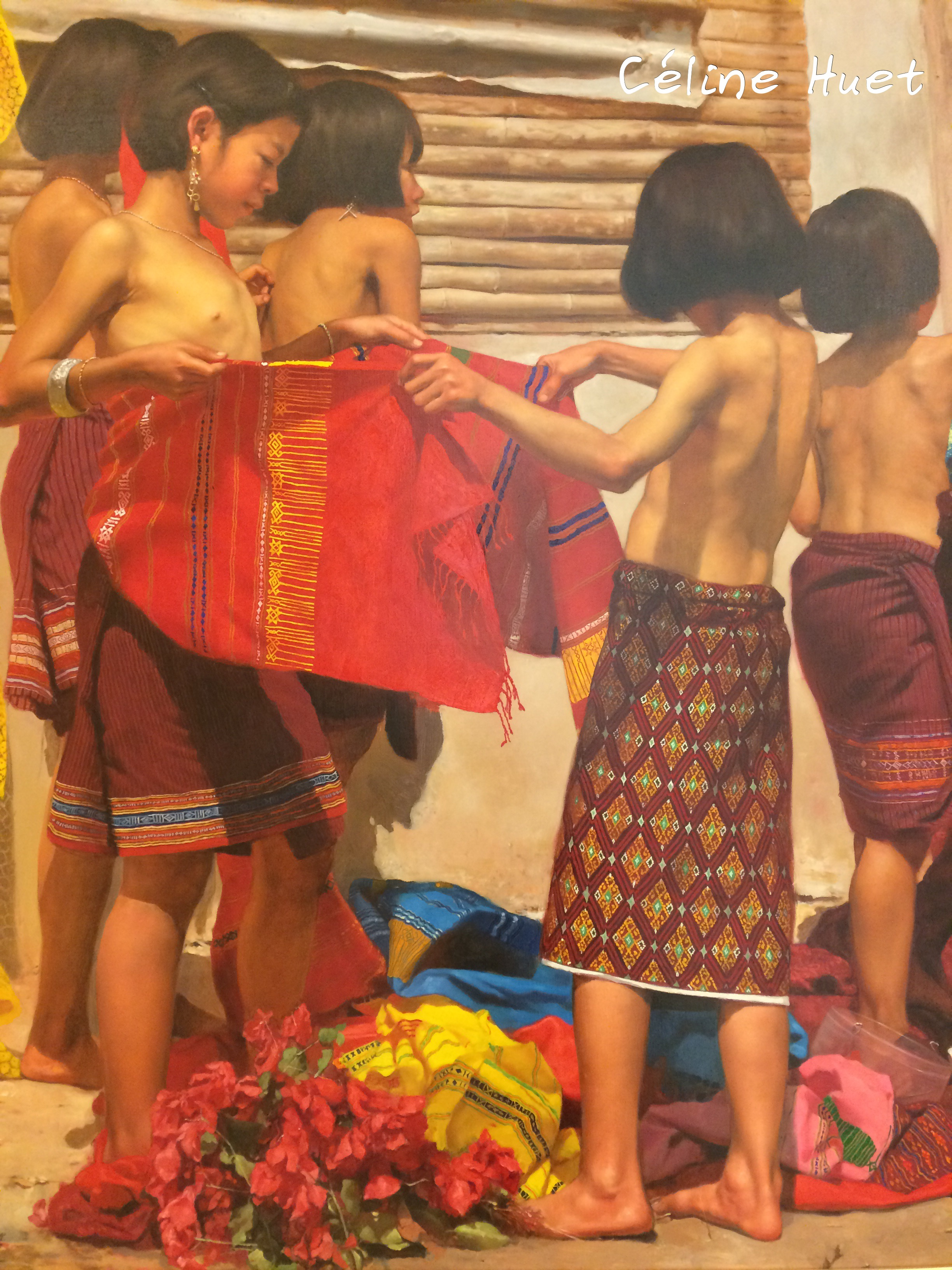 Prepare for Thaidancing Sakaranon Supap MOCA Bangkok Thaïlande Asie