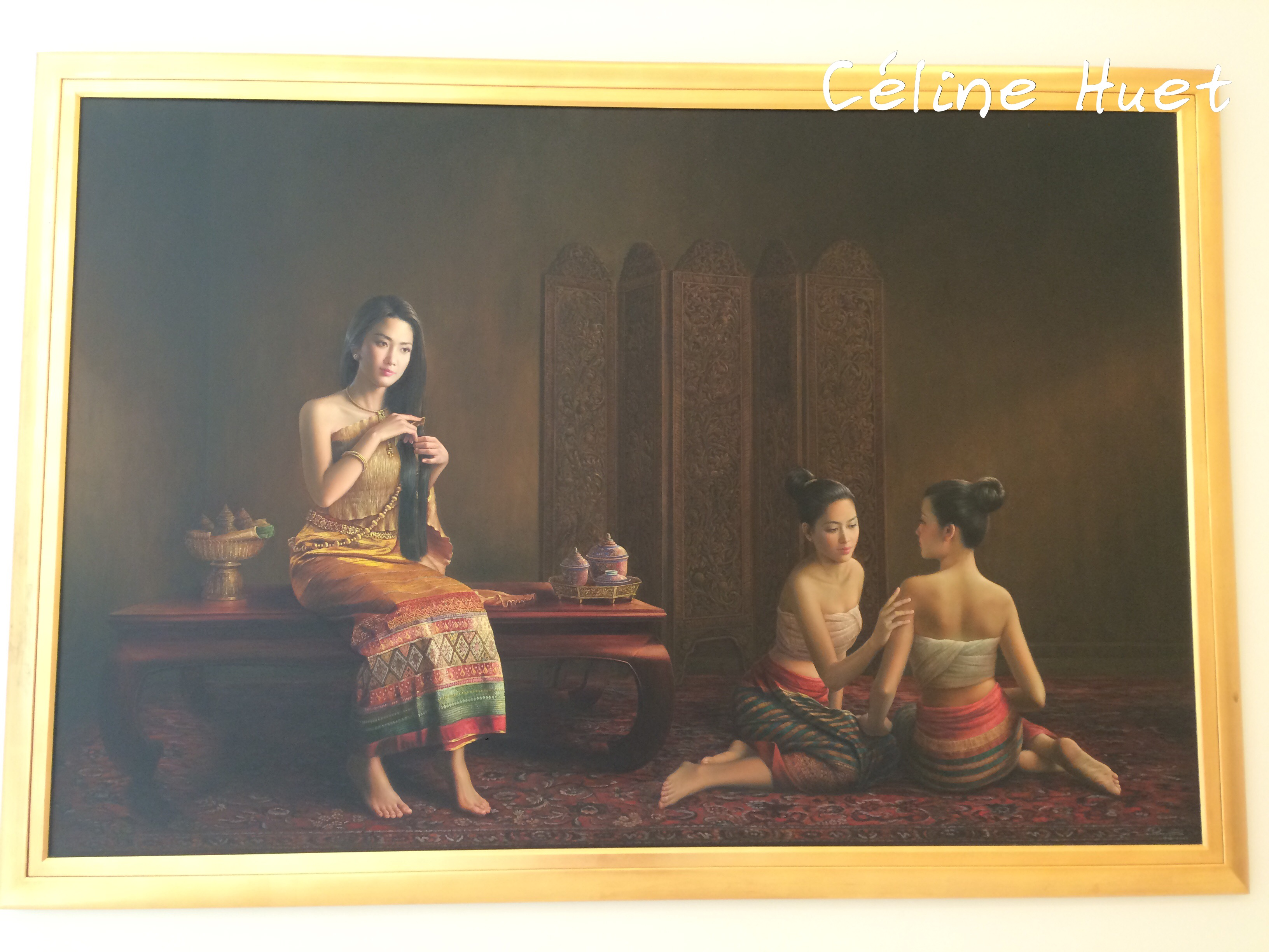 Lady with the flagrant hair n° 2 Suphon Printhrakul MOCA Bangkok Thaïlande Asie