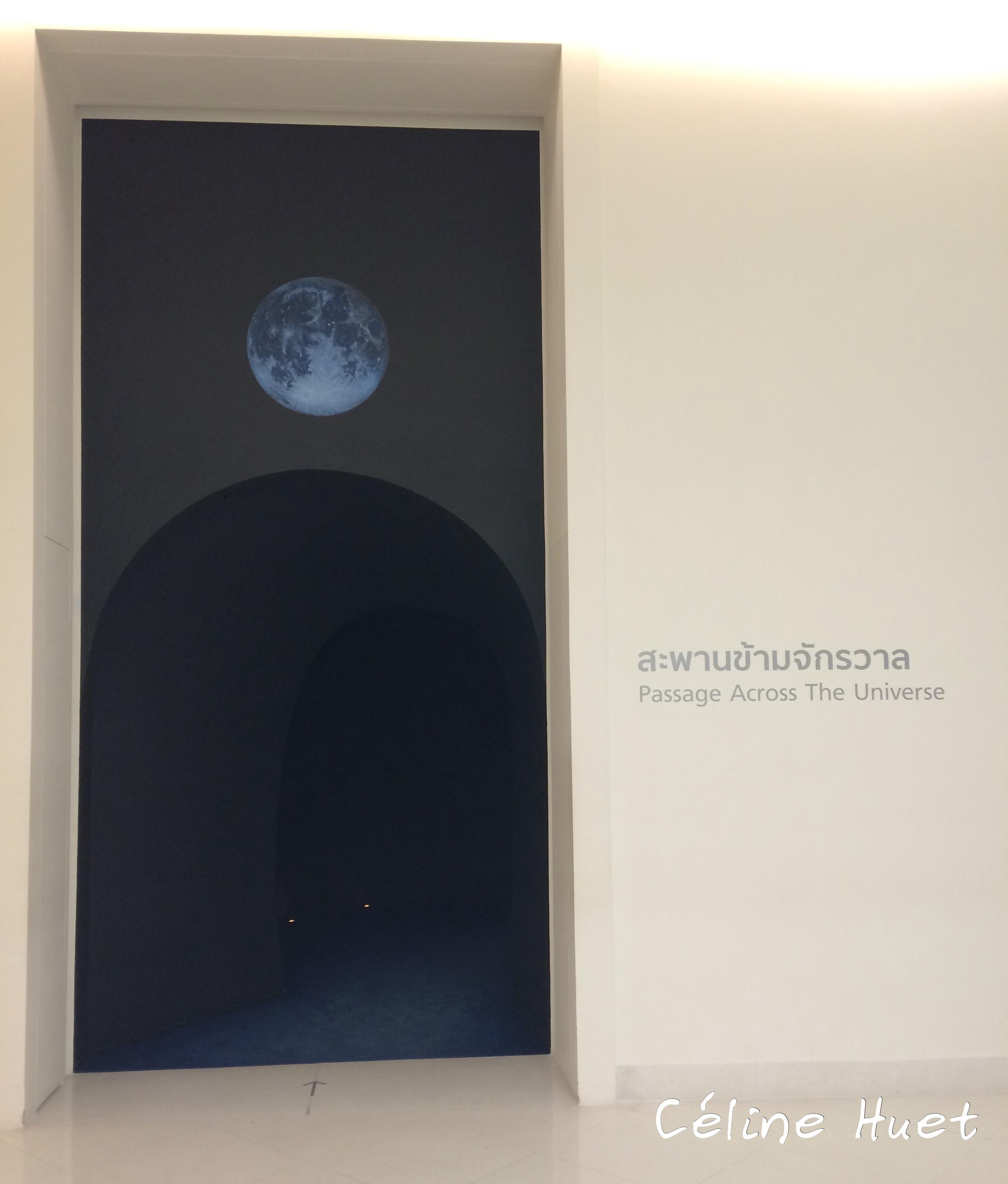 Passage across the Universe MOCA Bangkok Thaïlande Asie