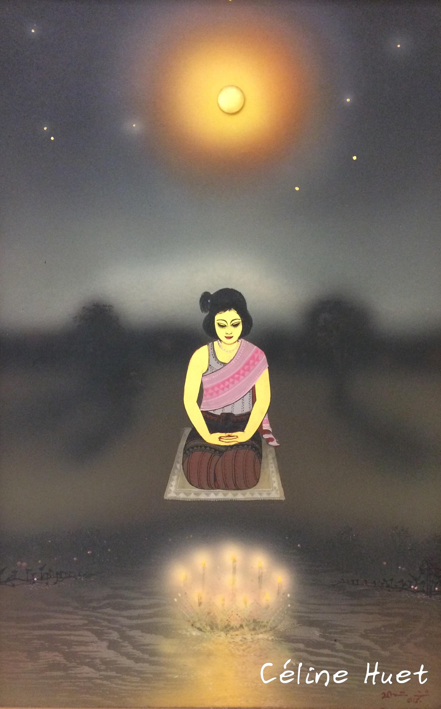 Loi Kratong Prayad Pongdam MOCA Bangkok Thaïlande Asie