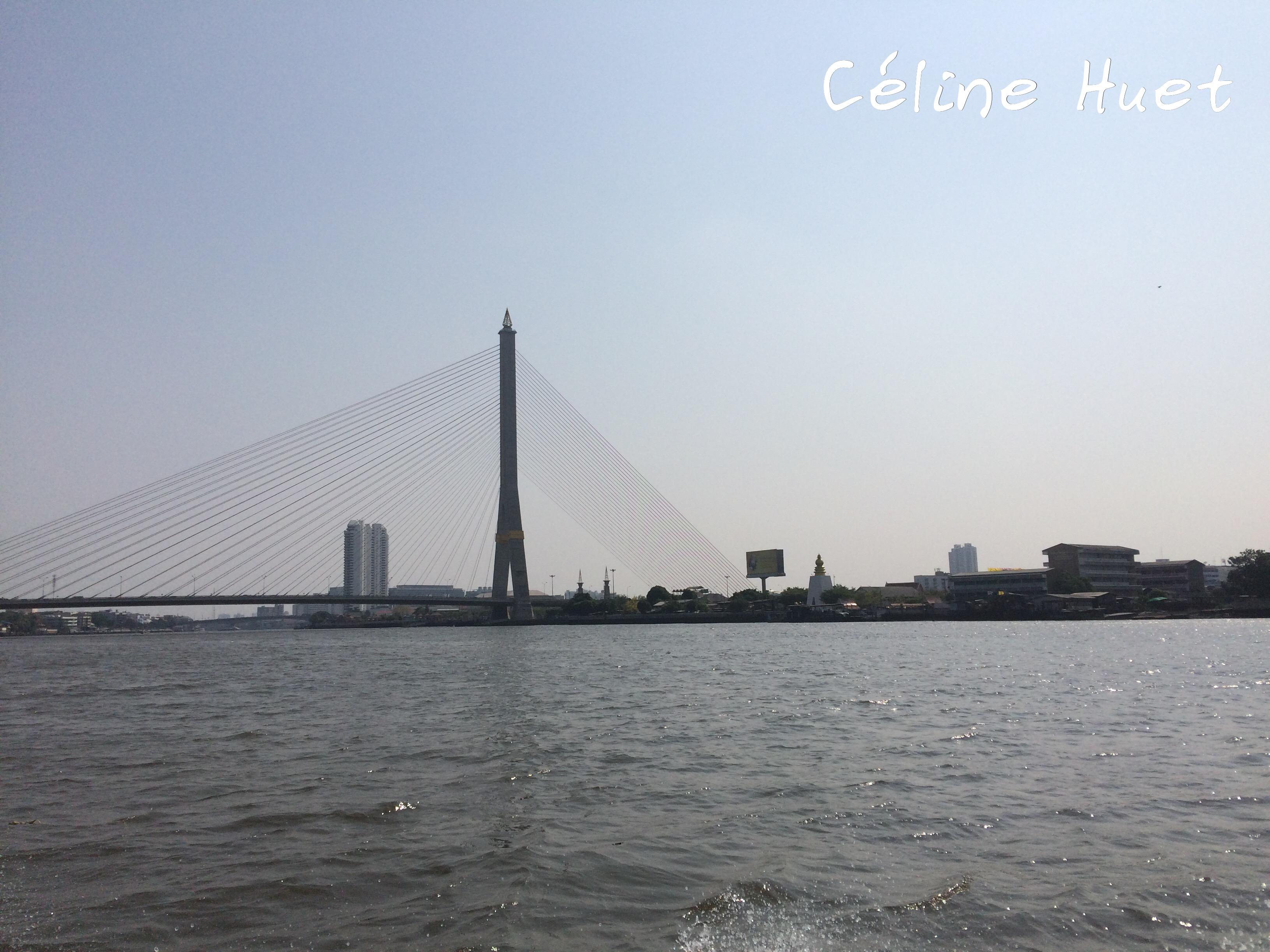 Pont Rama VIII Chao Praya Bangkok Thaïlande Asie