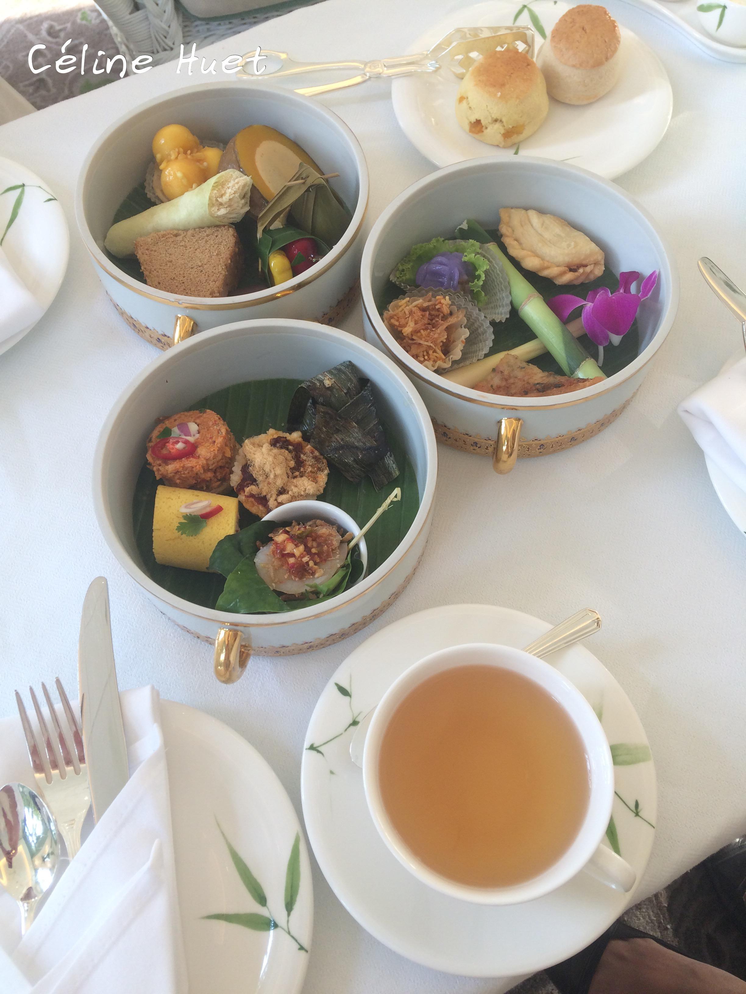 Tea Time Thai Mandarin Oriental Bangkok Thaïlande Asie