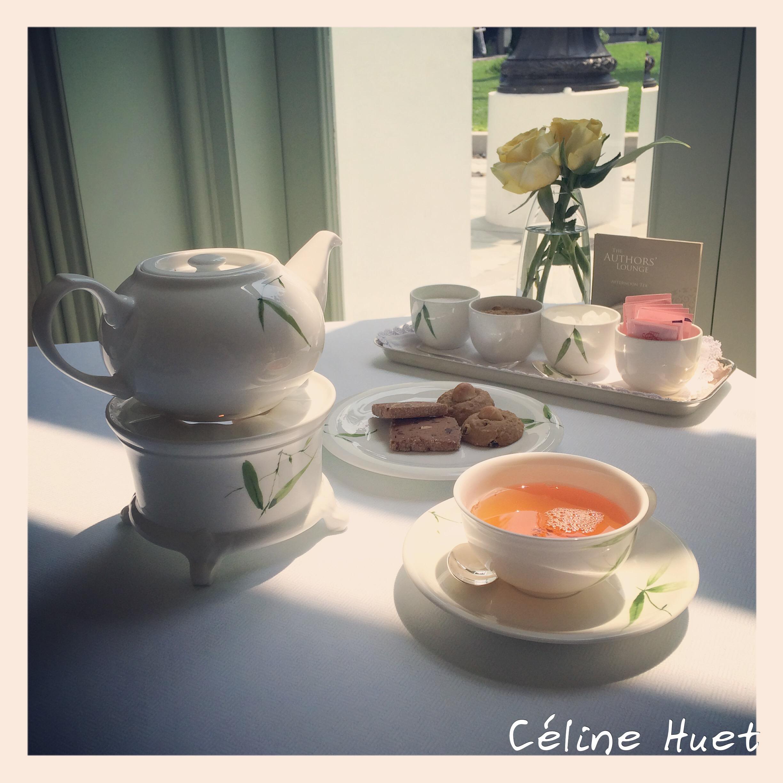 Tea Time Pavillon des Ecrivains Mandarin Oriental Bangkok Thaïlande Asie