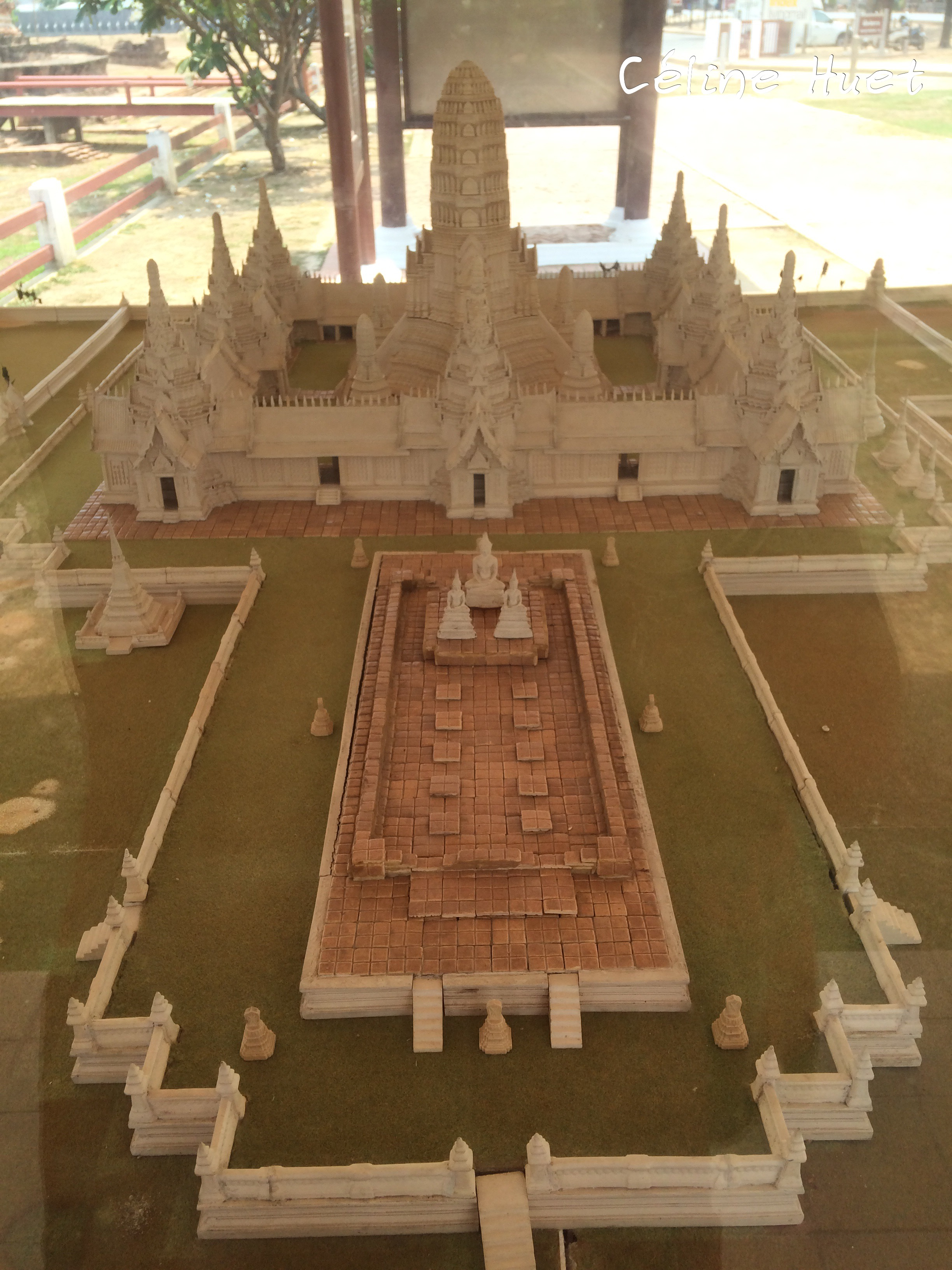 Wat Chai Watthanaram Ayutthaya Thaïlande Asie