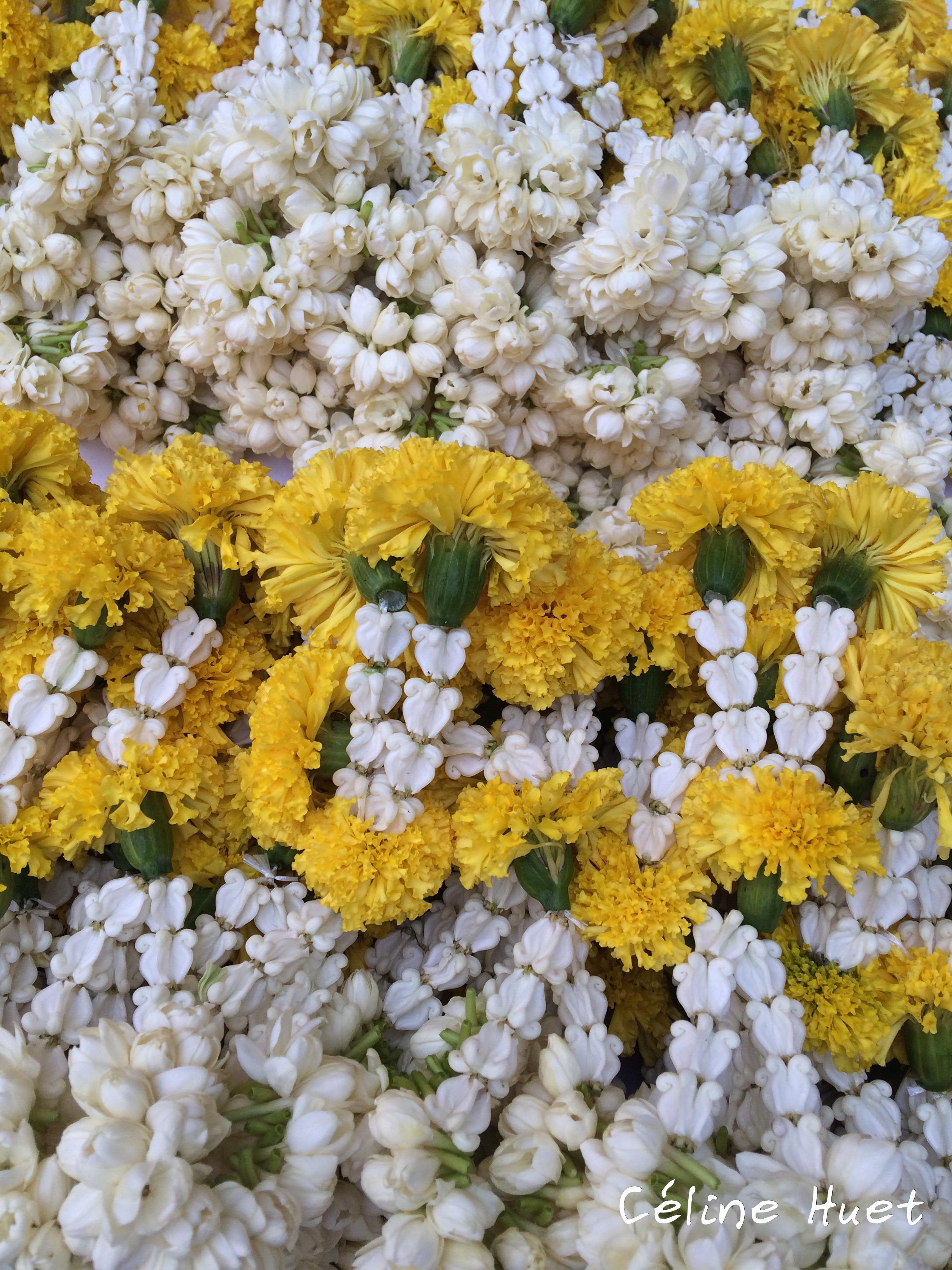 140e anniversaire Cérémonie Moines Mandarin Oriental Bangkok Thaïlande Asie