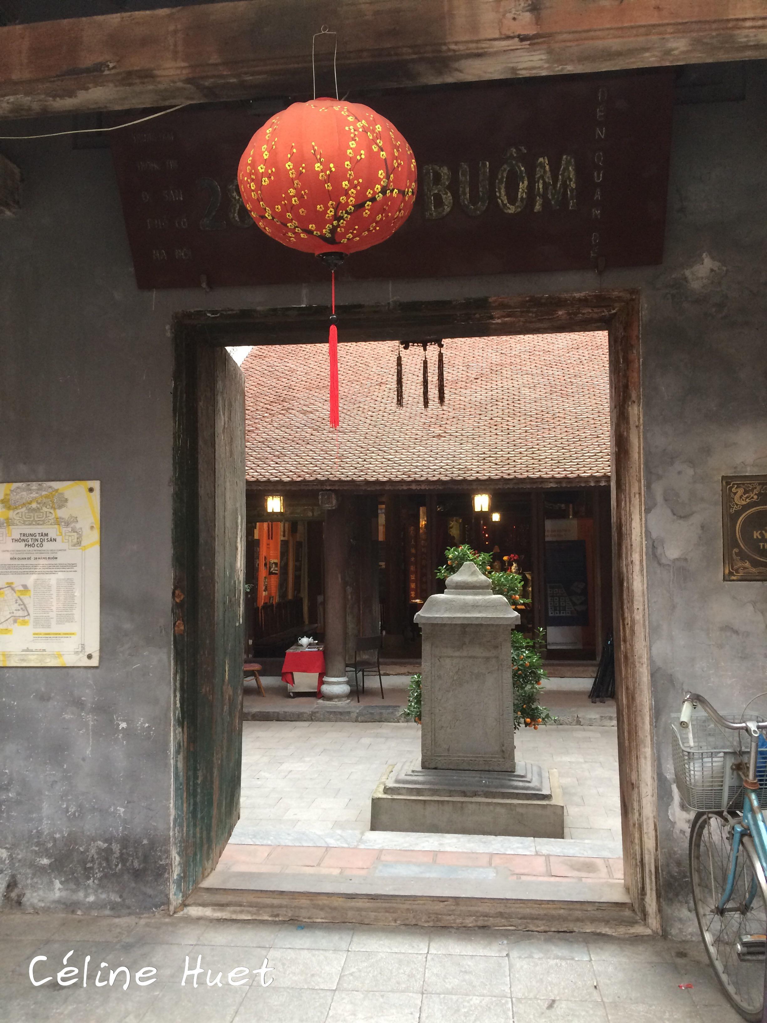 Théâtre dans la rue Hanoï Vietnam Asie