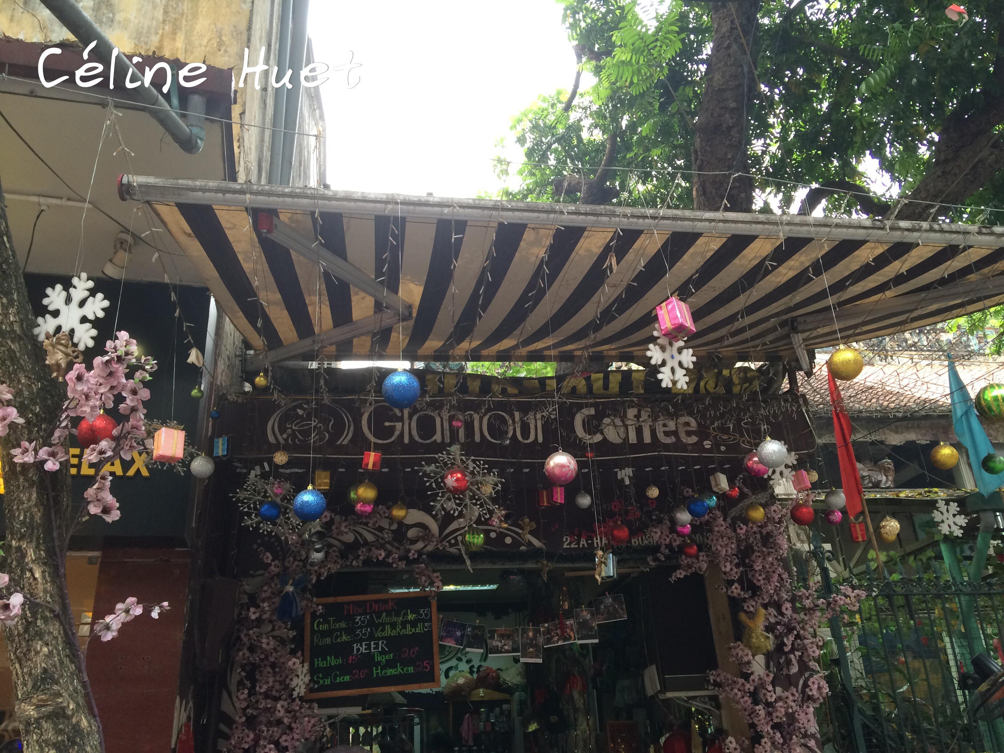 Glamour Coffee Hanoï Vietnam Asie