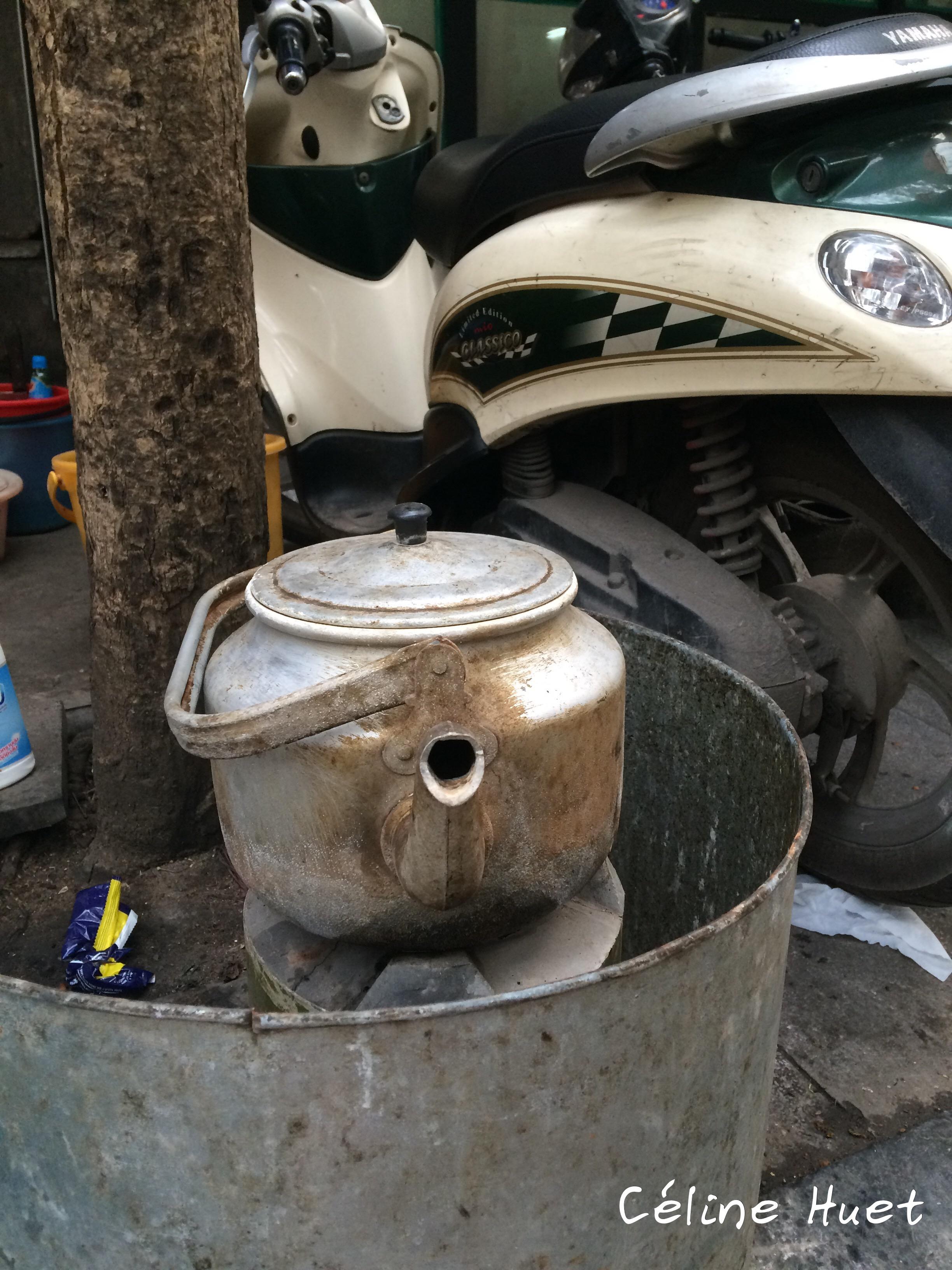 Bouilloire Hanoï Vietnam Asie
