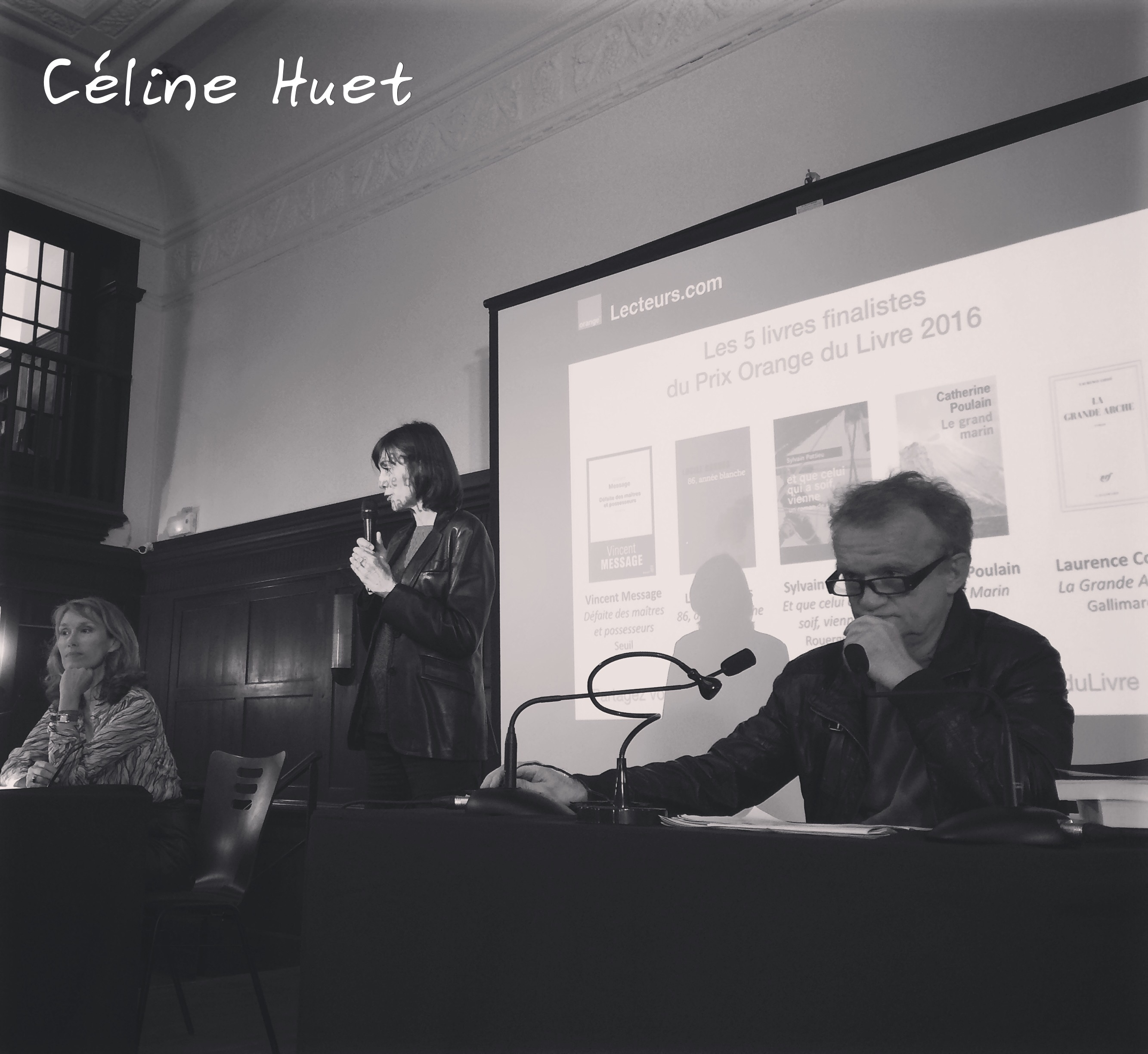 Lectures Prix Orange 2016 Reid Hall Paris Marianne Basler Domnique Pinon Association Textes & Voix
