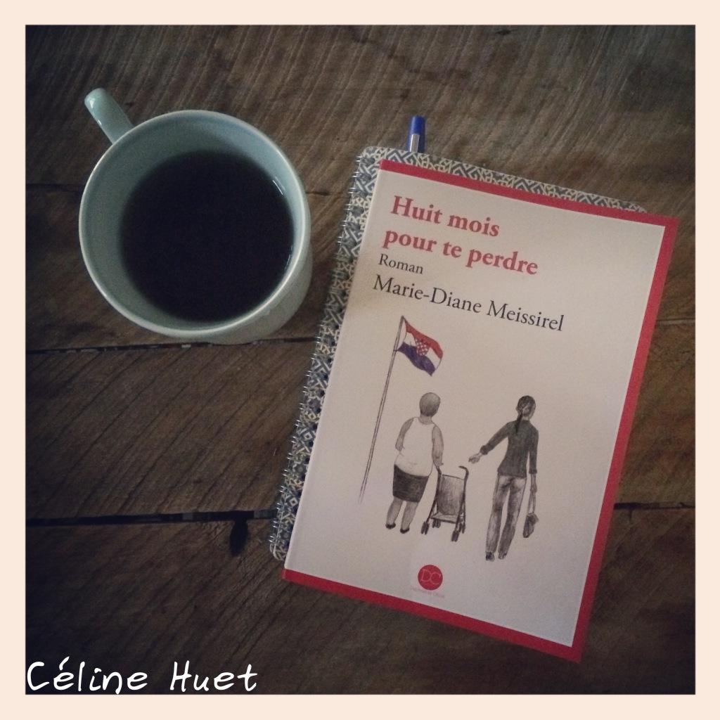 """""""Huit mois pour te perdre"""" de Marie-Diane Meissirel..."""