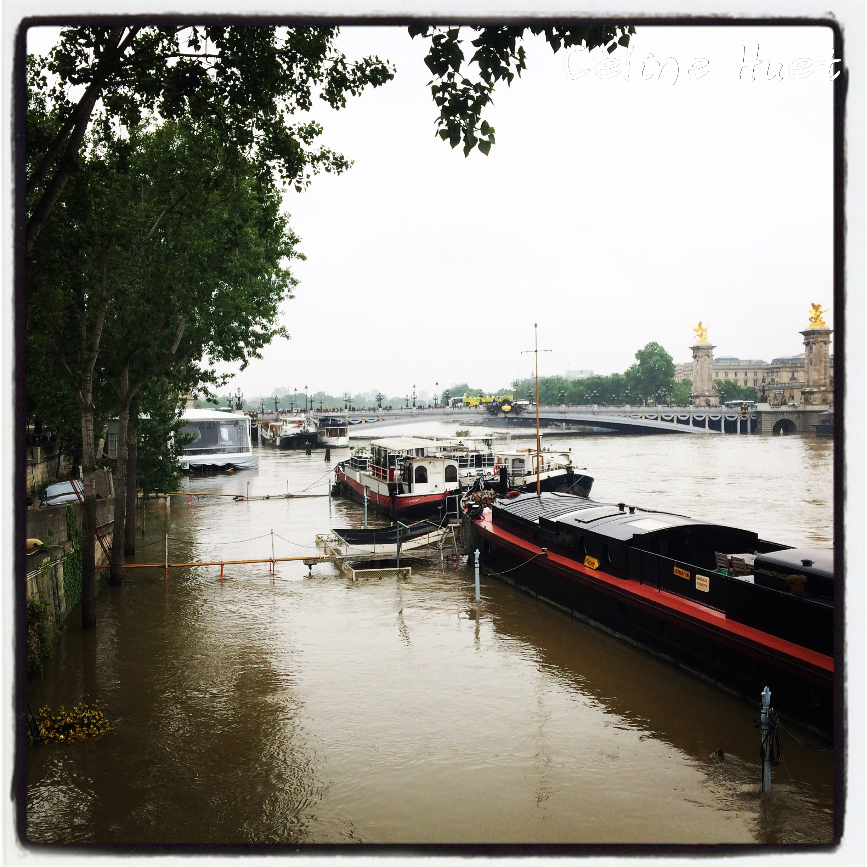 Crue de la Seine Paris 2016