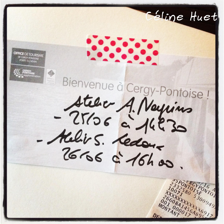 Carnet No Mad Festival Céline Huet