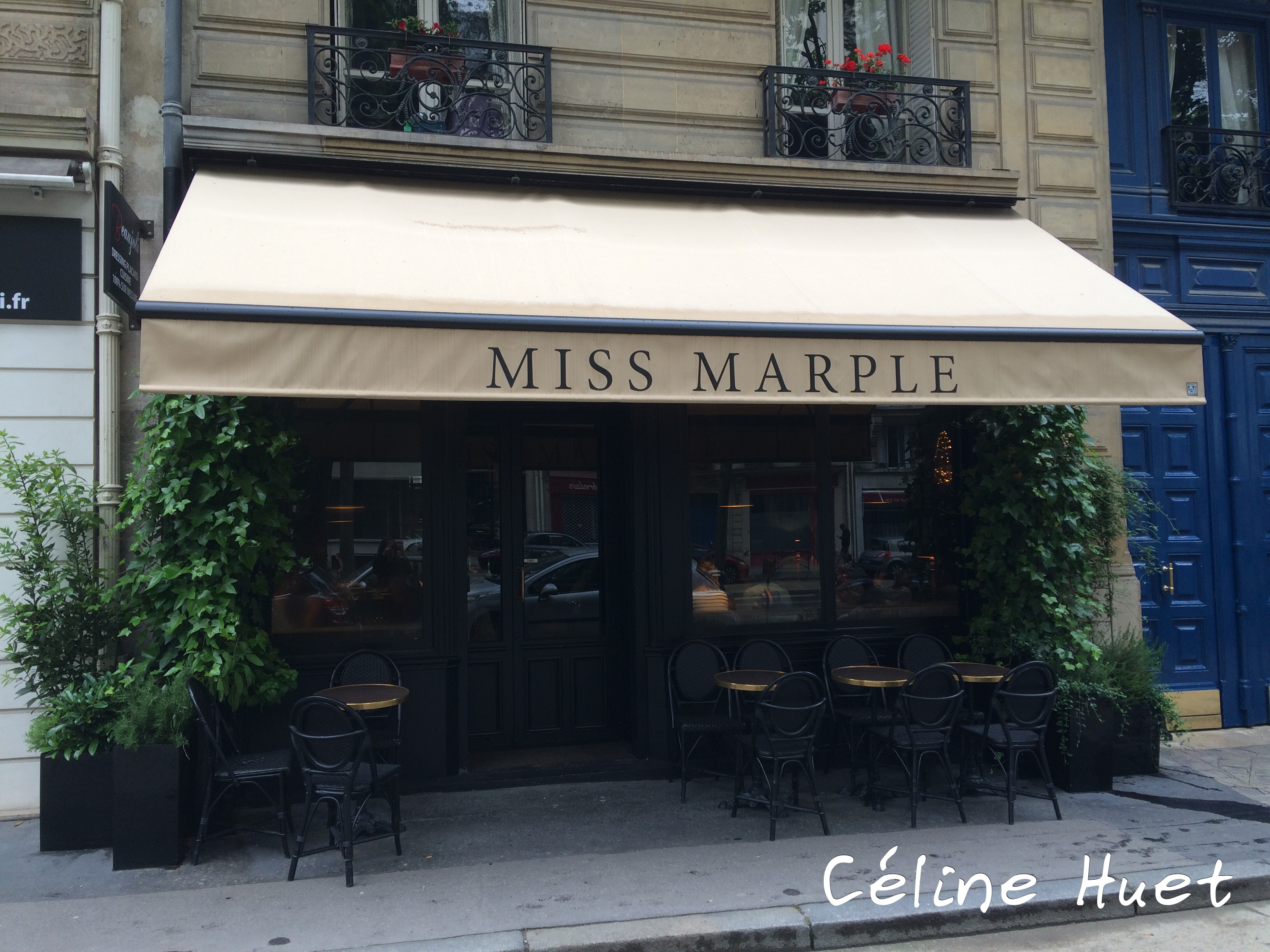 Brunch Salon de Thé Miss Marple Paris