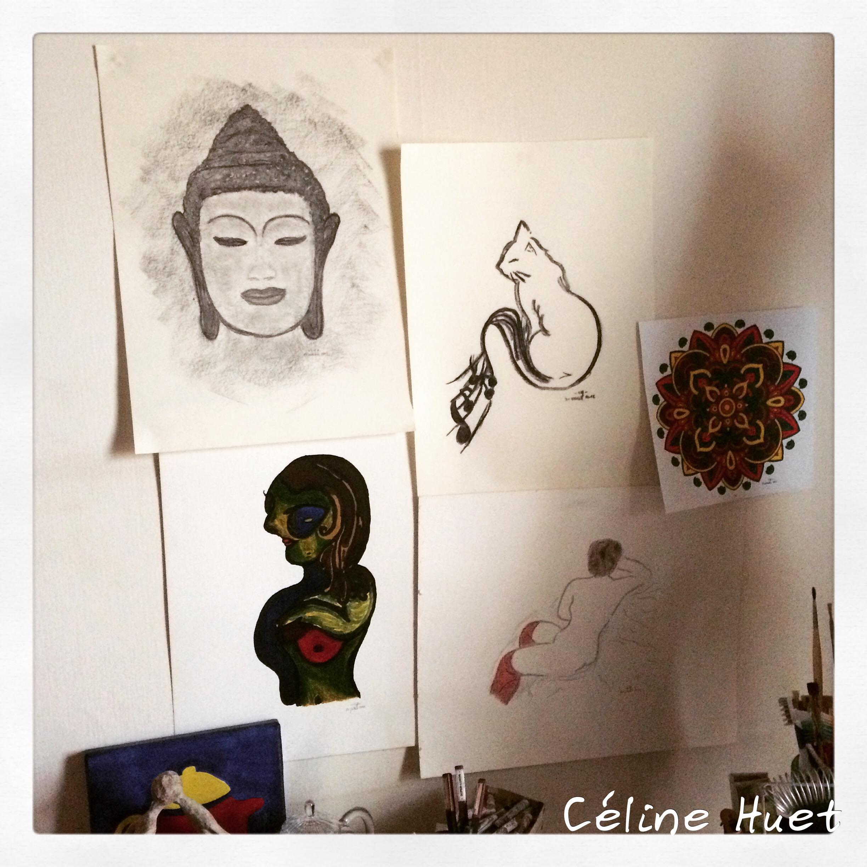 Exposition personnelle Céline Huet