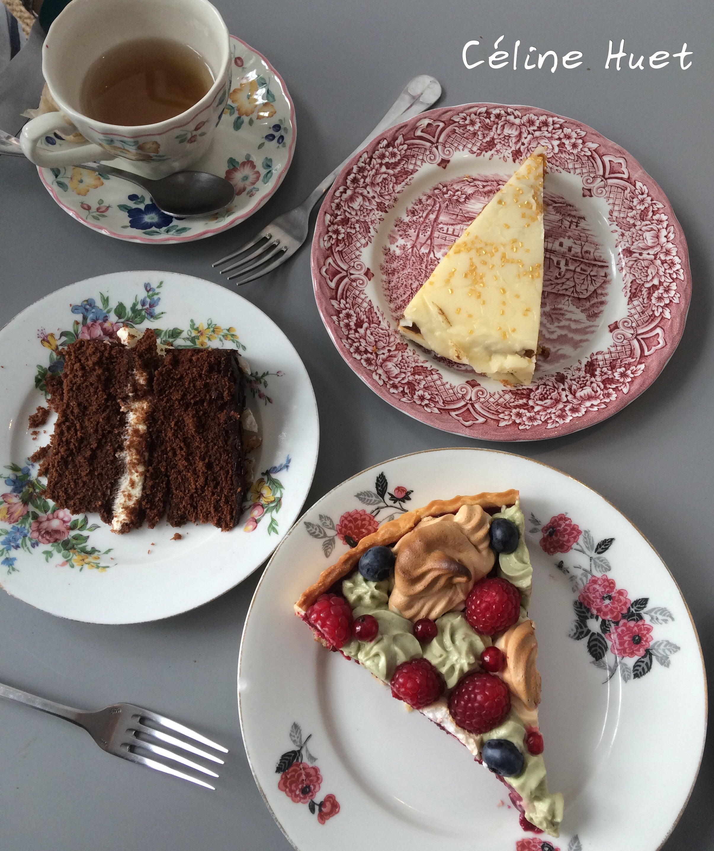 Chocolate and Ginger cake Carrot Cake Benedict's Wedding Pie The Tearoom Tours