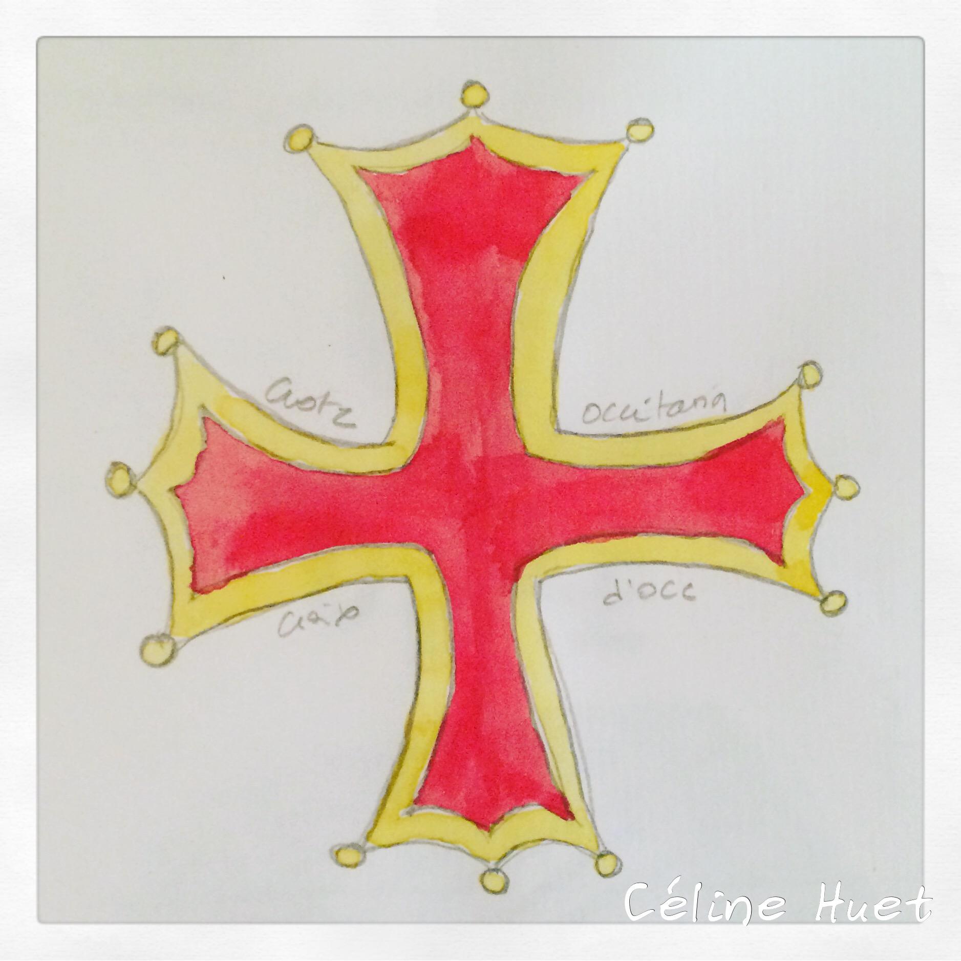 Croix d'Occitanie Gers Gascogne France