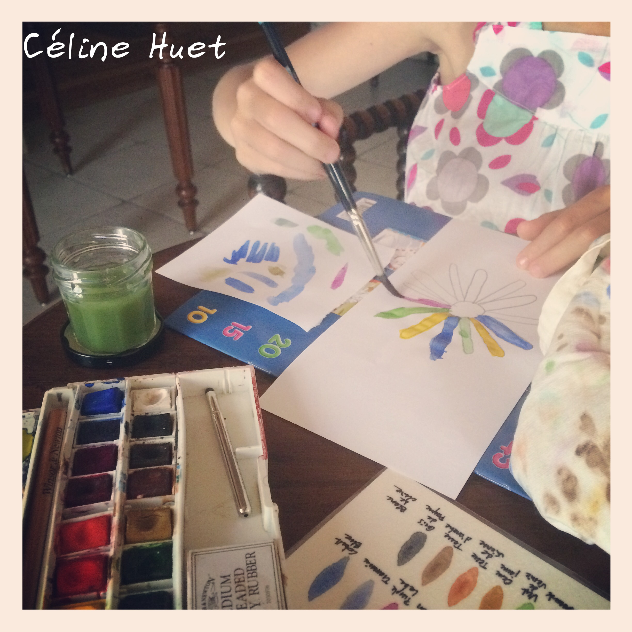 Apprentissage de l'aquarelle