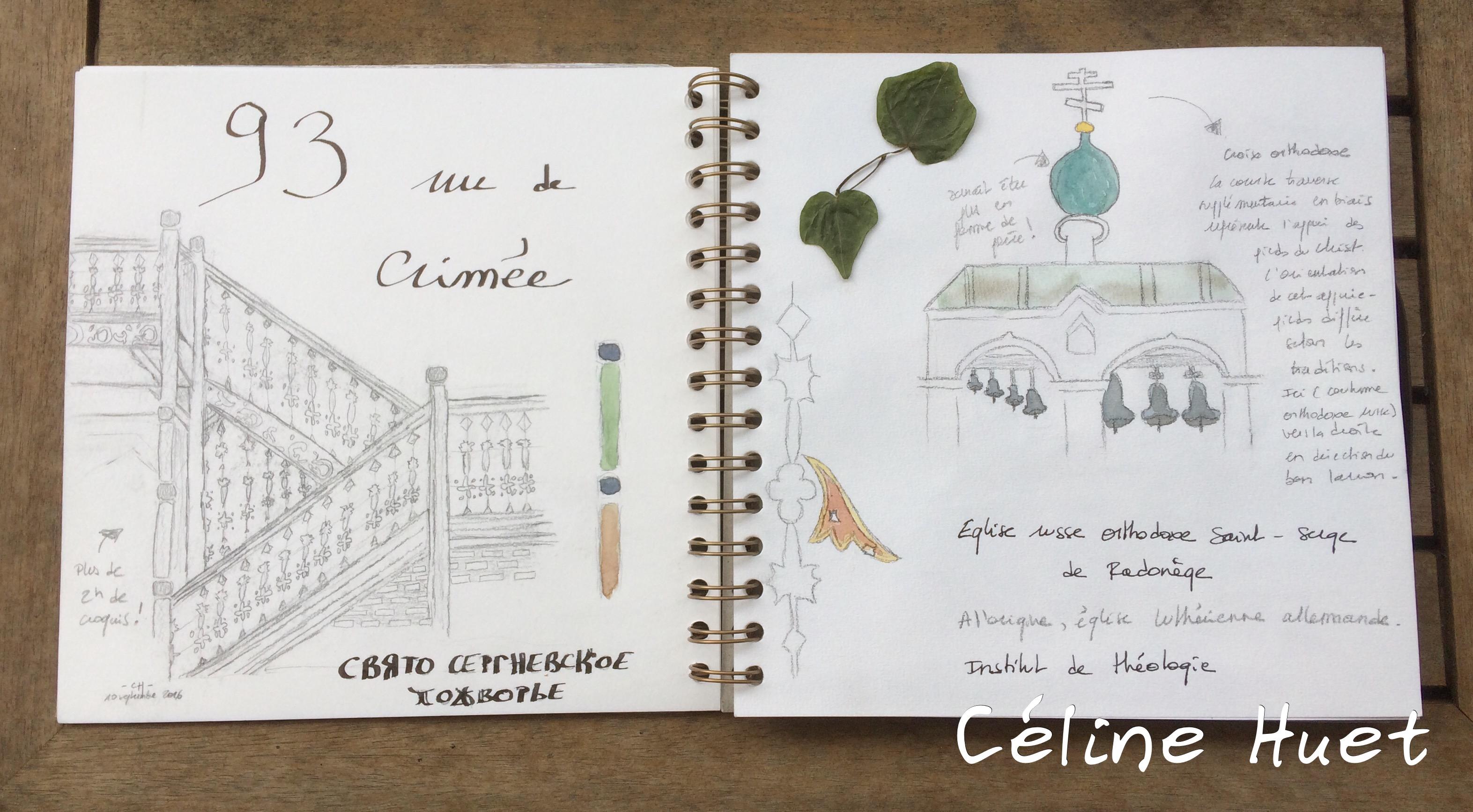 Carnet de voyage Paris insolite Céline Huet