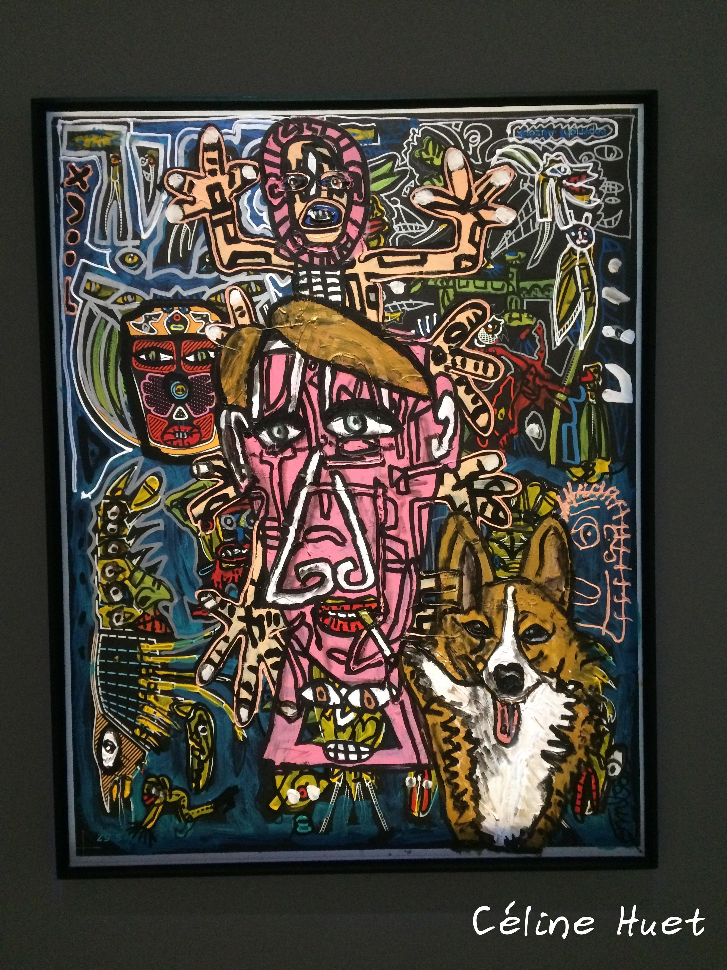 Robert Combas Exposition Rester vivant Michel Houellebecq Palais de Tokyo Paris