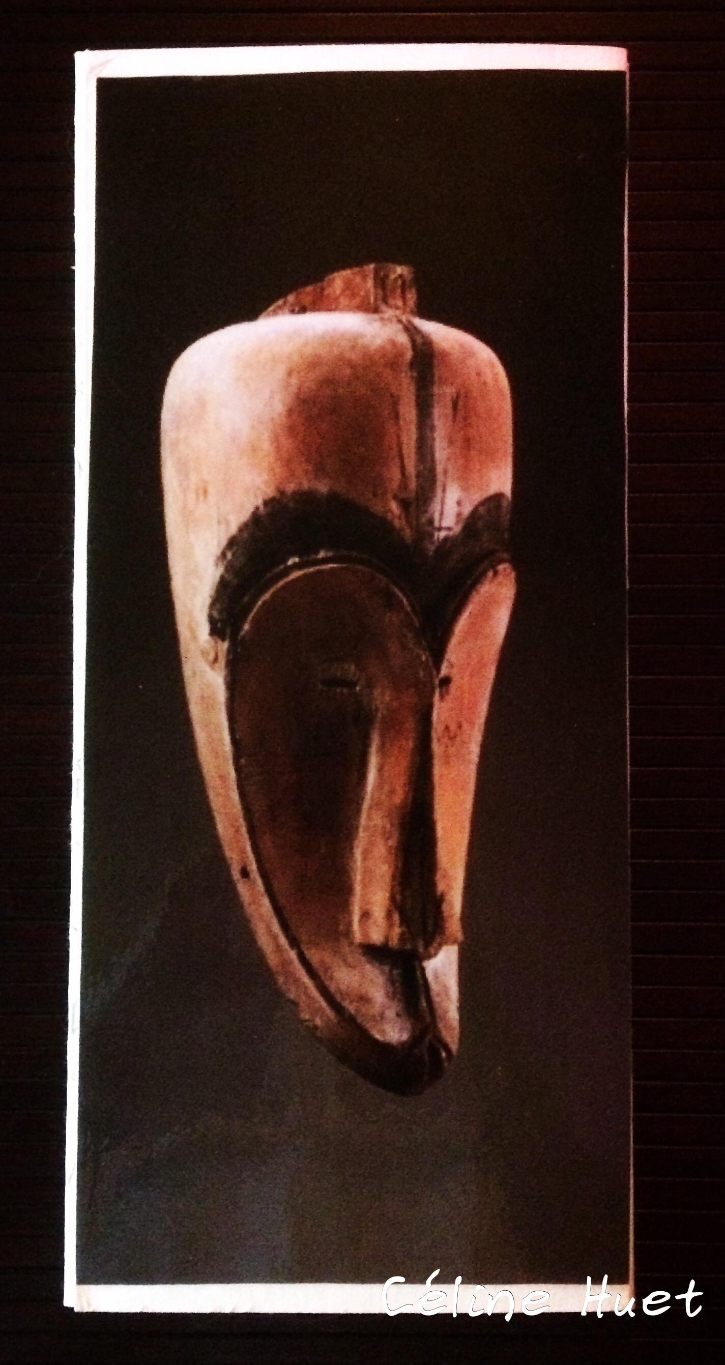 Carnet de voyage Afrique Musée Dapper Céline Huet (quatrième de couverture)