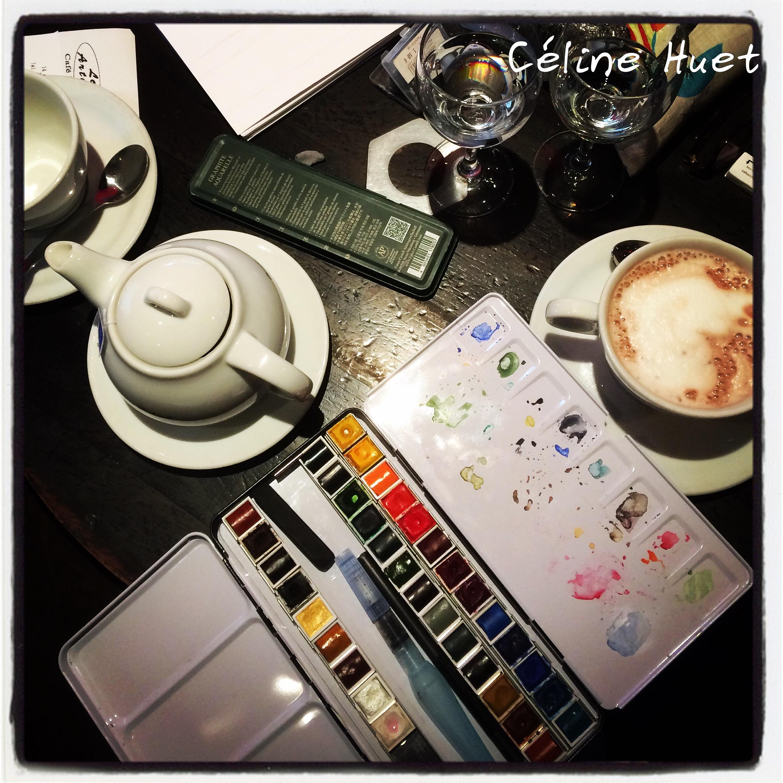 Journée stage carnet de voyage et thé