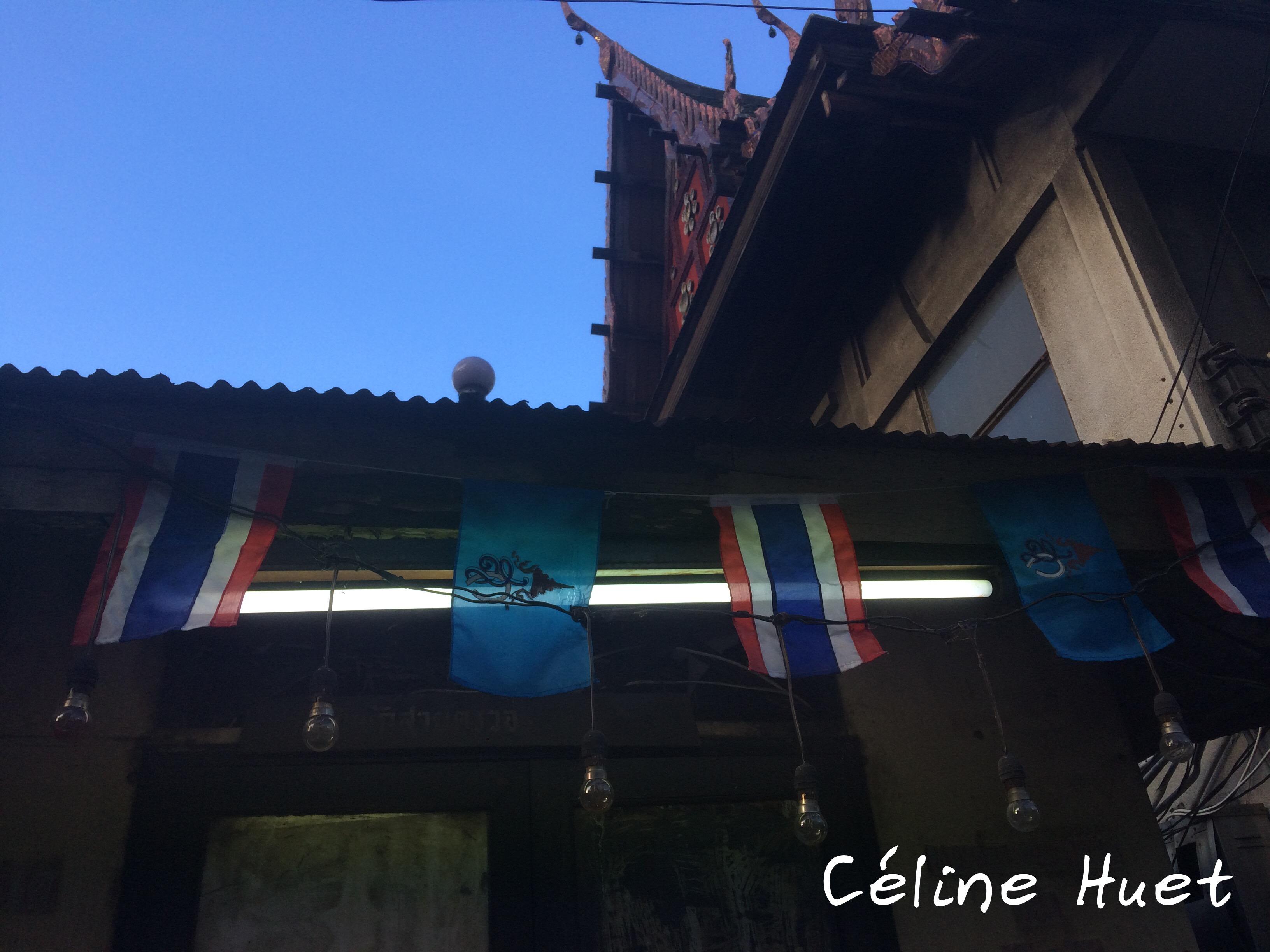 Détail de rue Bangkok Thaïlande Asie