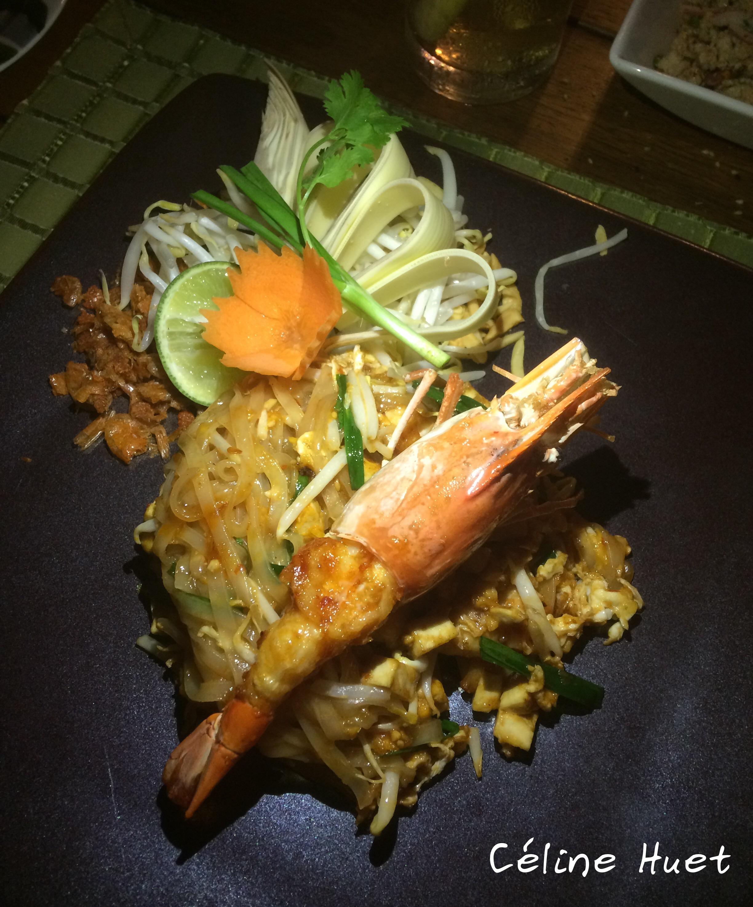 Pad Thaï Mandarin Oriental Bangkok Thaïlande Asie