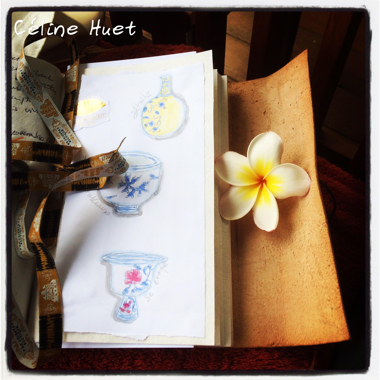 Carnet de voyage Bangkok Thaïlande Céline Huet