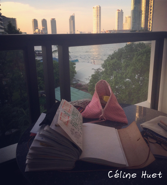 Carnet de voyage Asie Céline Huet