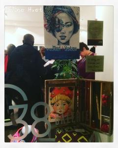 Vernissage exposition Maud Villaret et Stéphanie Ledoux La Galerie 38 Paris