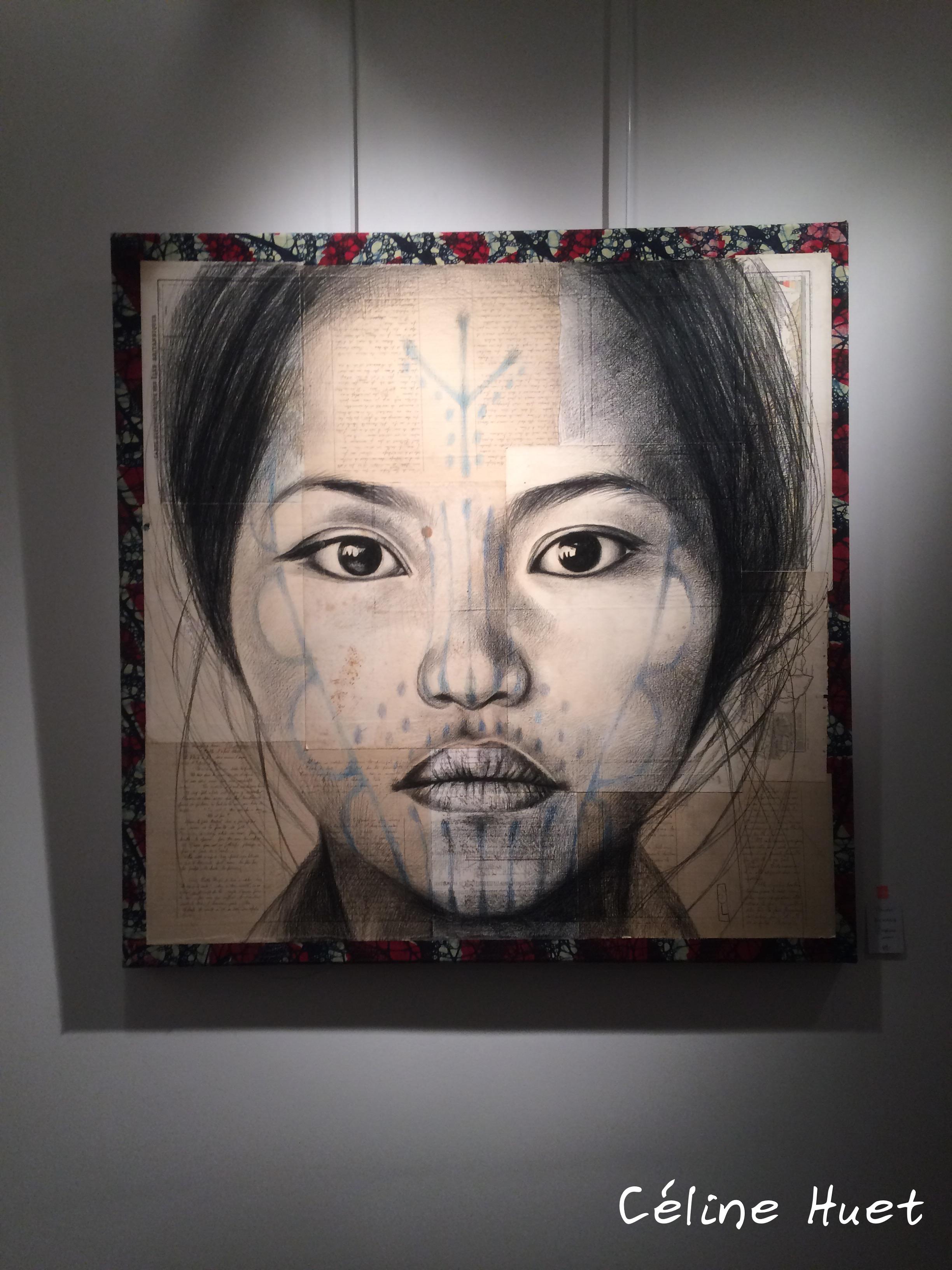 Dessin Stéphanie Ledoux exposition La Galerie 38 Paris