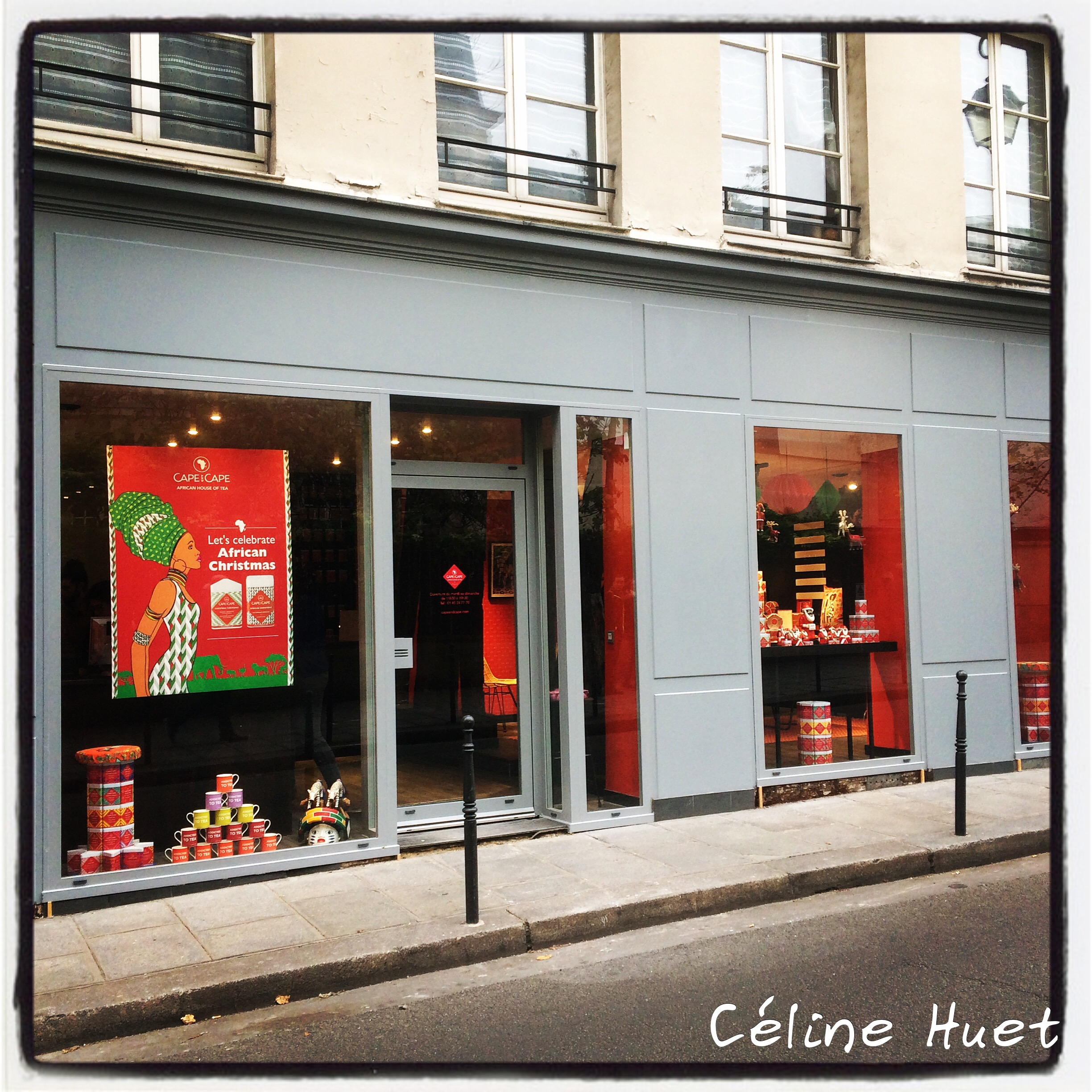 Boutique Cape & Cape Marais Paris