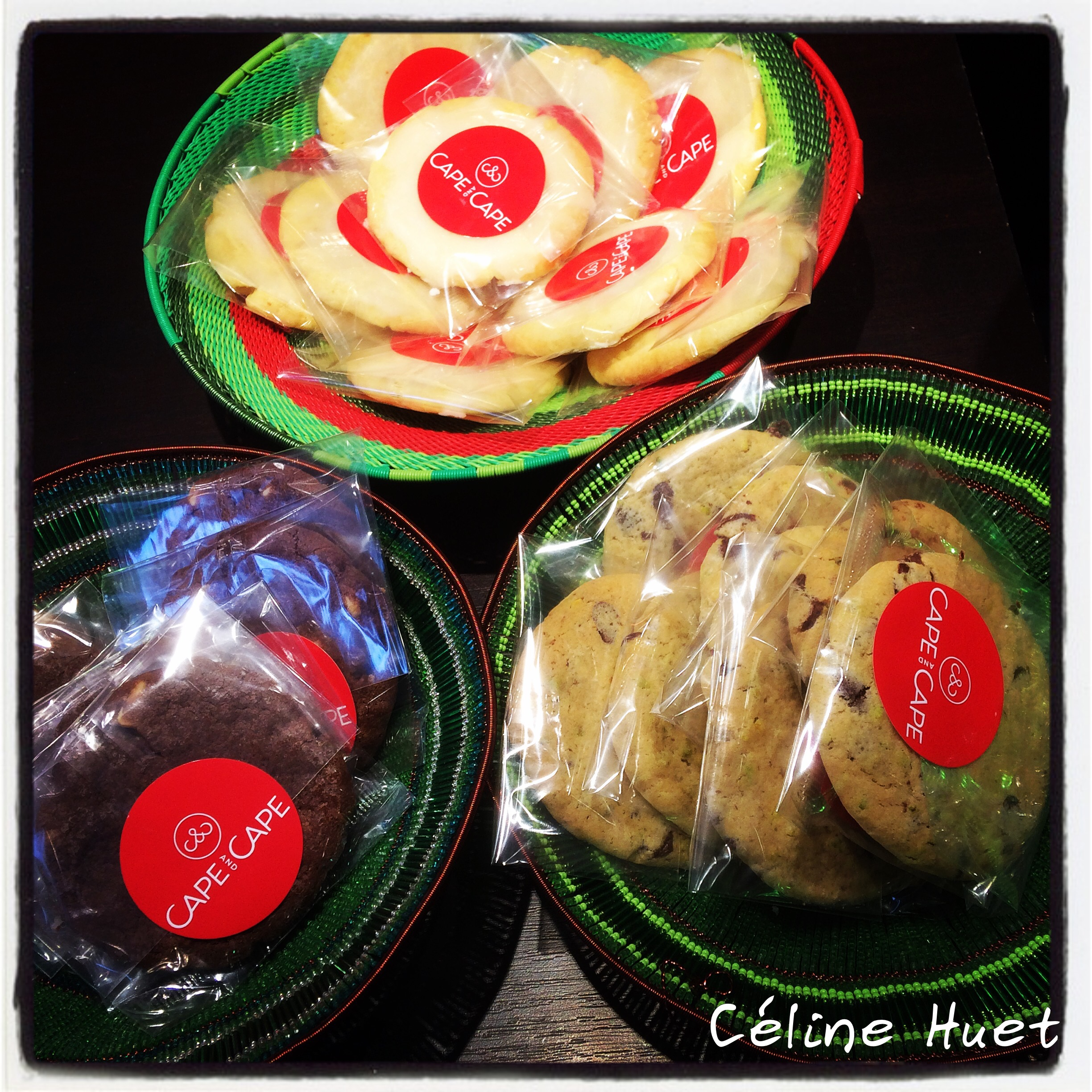 Cookies boutique Cape & Cape Marais Paris