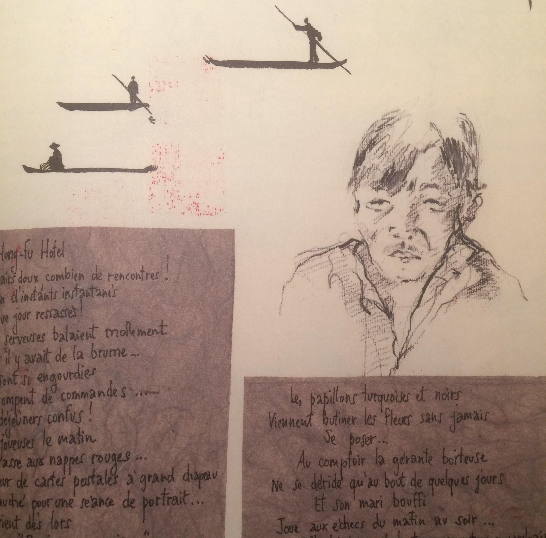 Voyage d'encre Carnets de Chine 2005-2013 Simon Editions Akinomé